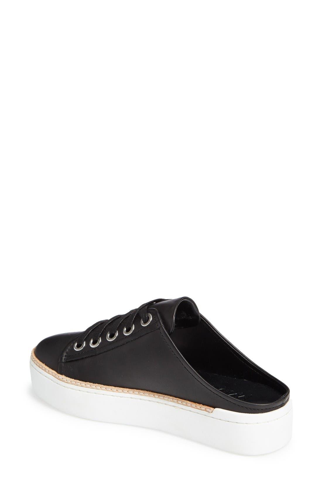 M4D3 Slide Platform Sneaker,                             Alternate thumbnail 2, color,                             Black