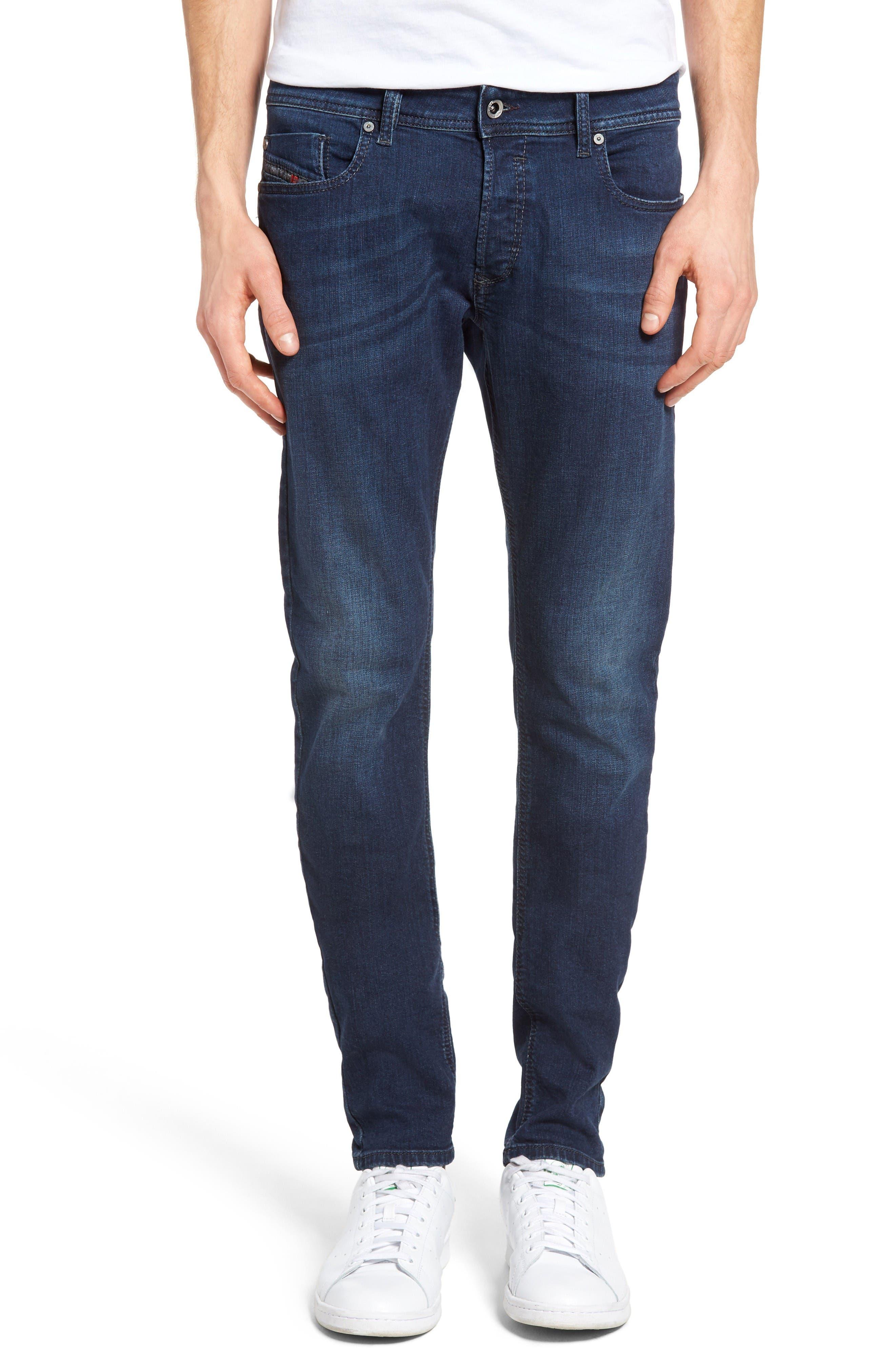 Alternate Image 1 Selected - DIESEL® Sleenker Skinny Fit Jeans (0854E)
