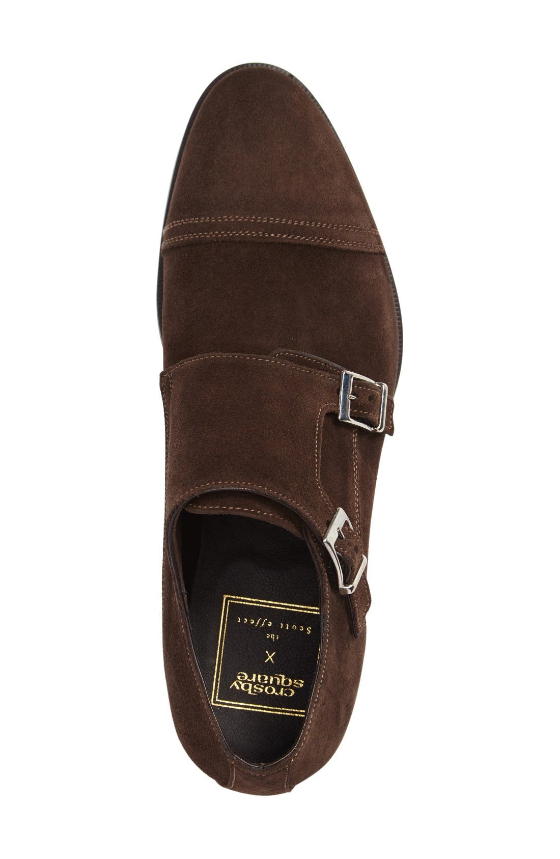 Alternate Image 3  - Crosby Square Conley Double Monk Strap Shoe (Men)