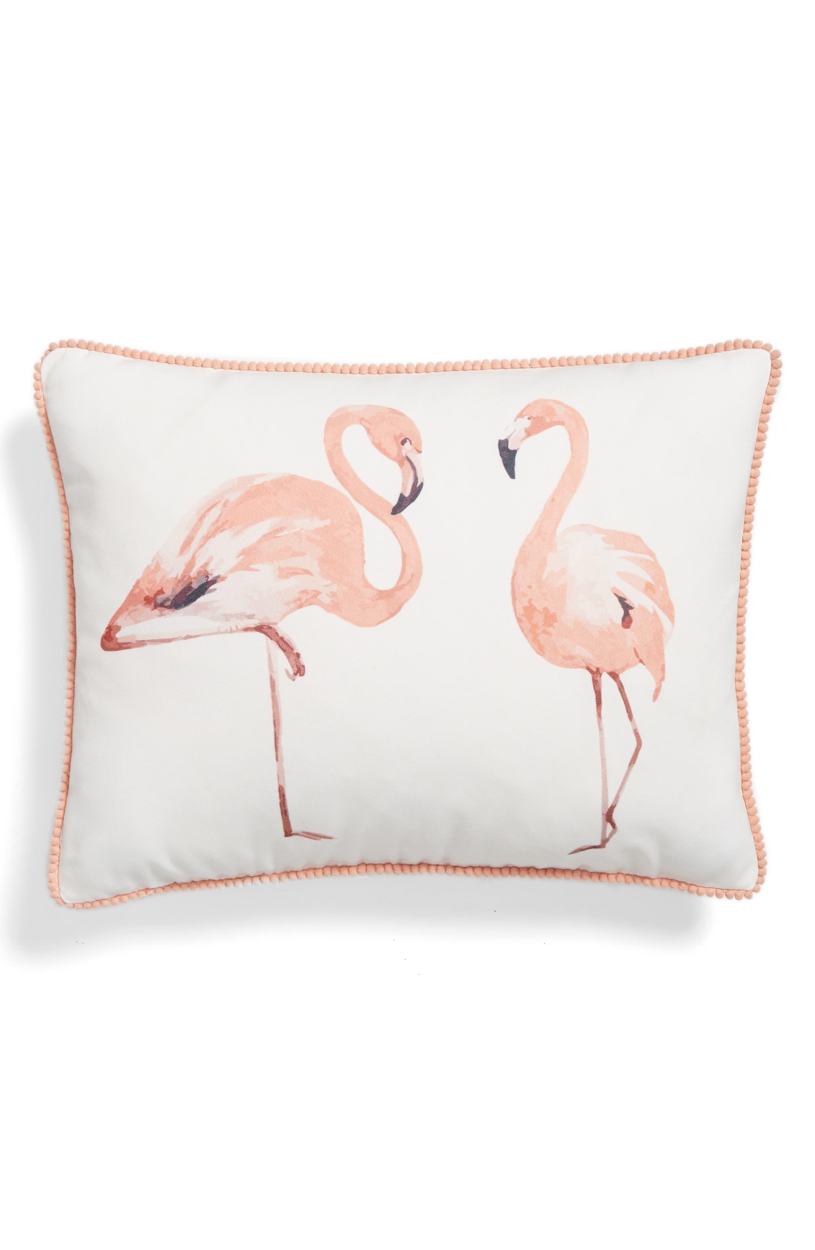 Levtex Flamingo Accent Pillow