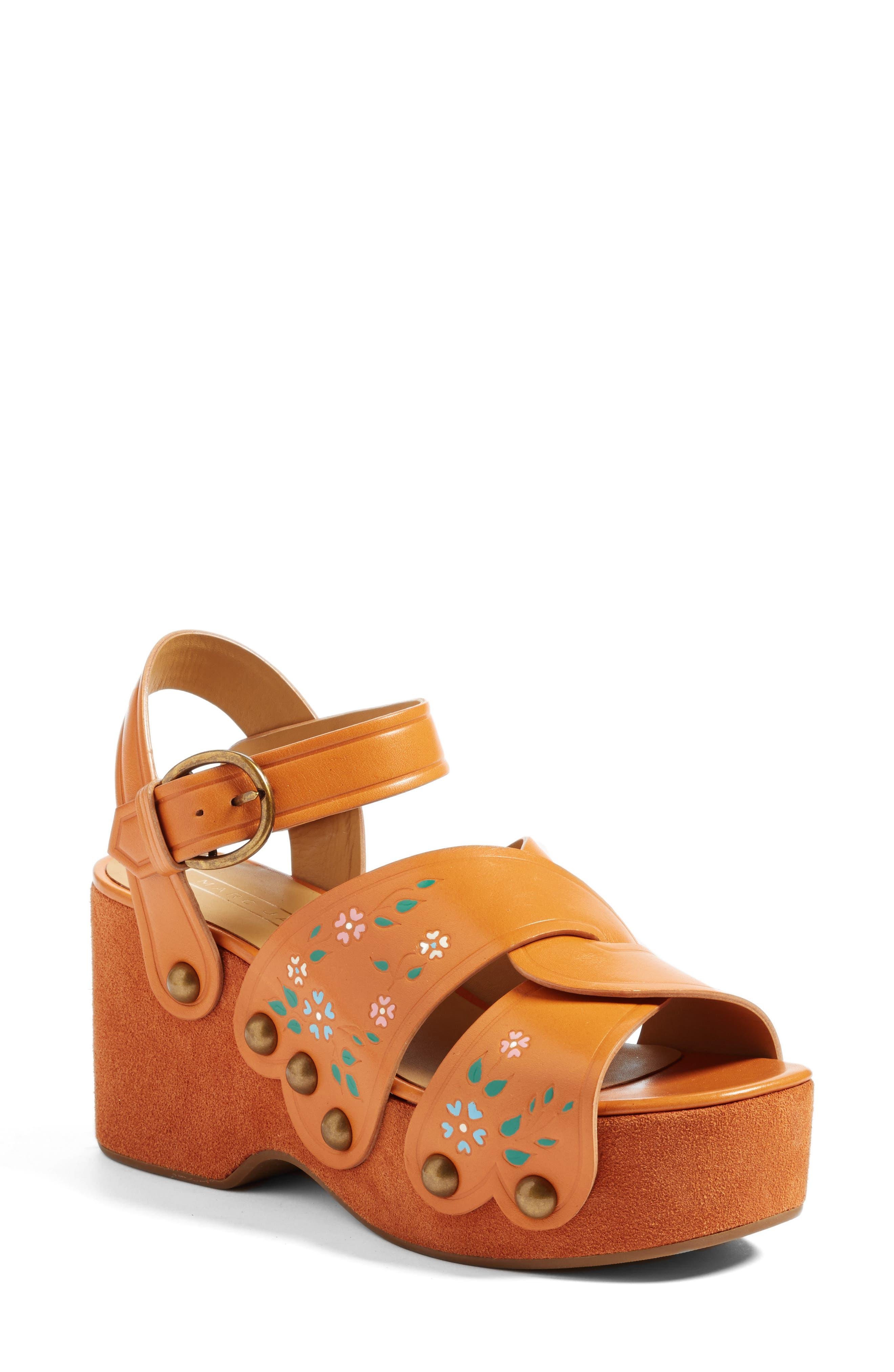 MARC JACOBS Wildflower Wedge Sandal