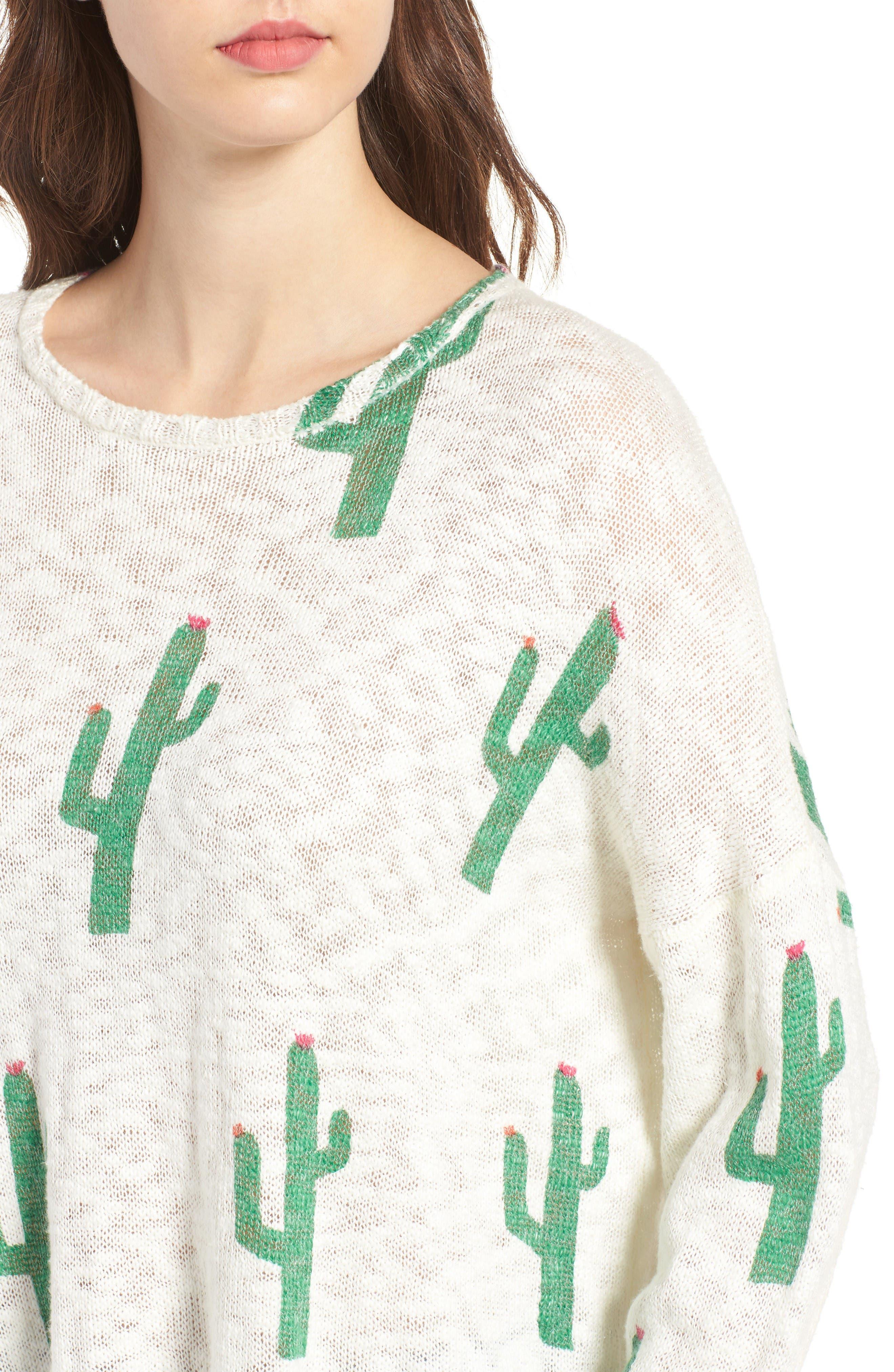 Alternate Image 4  - Show Me Your Mumu Varsity Pullover