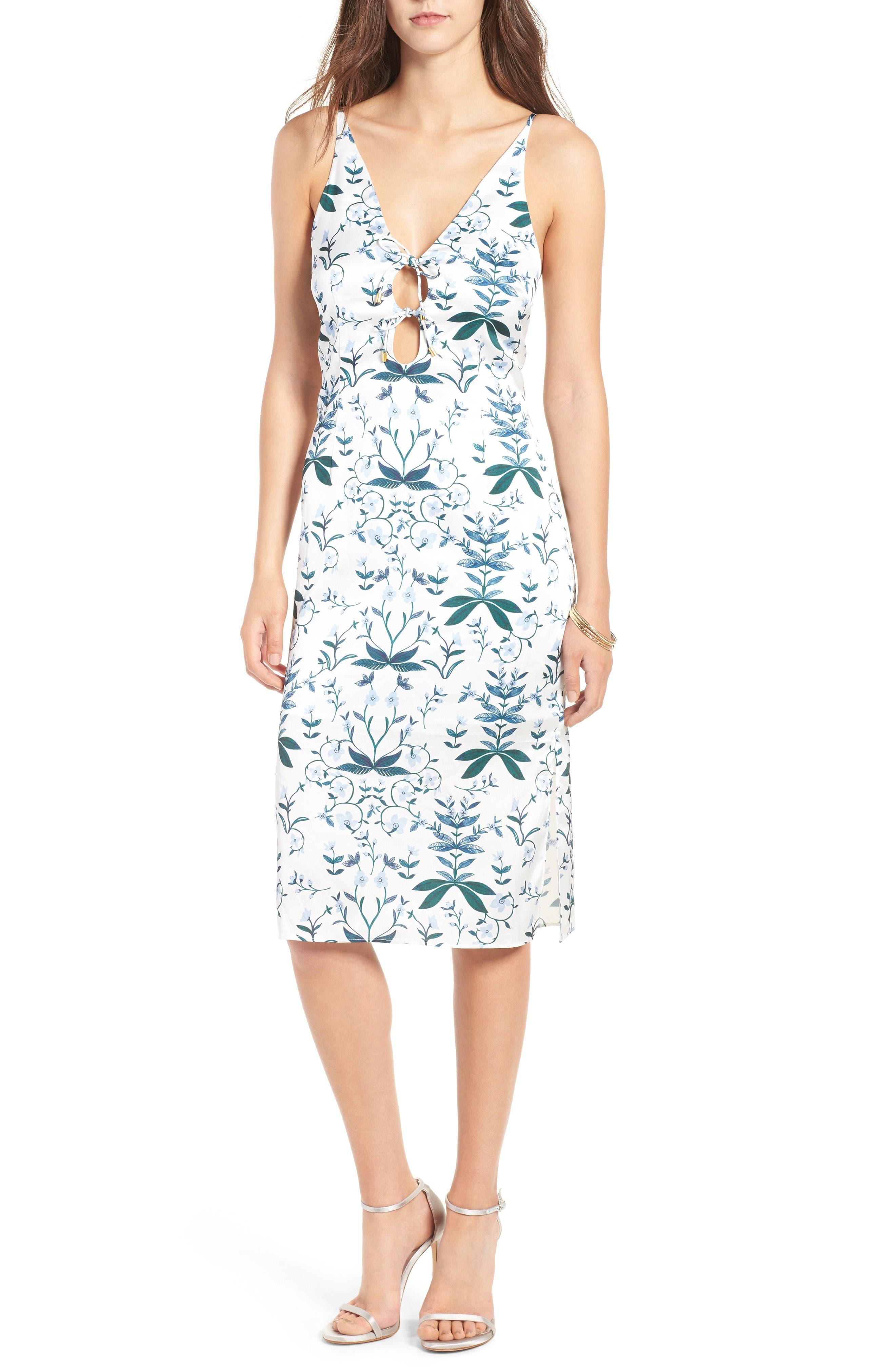 Main Image - Keepsake the Label Keeping Score Midi Dress