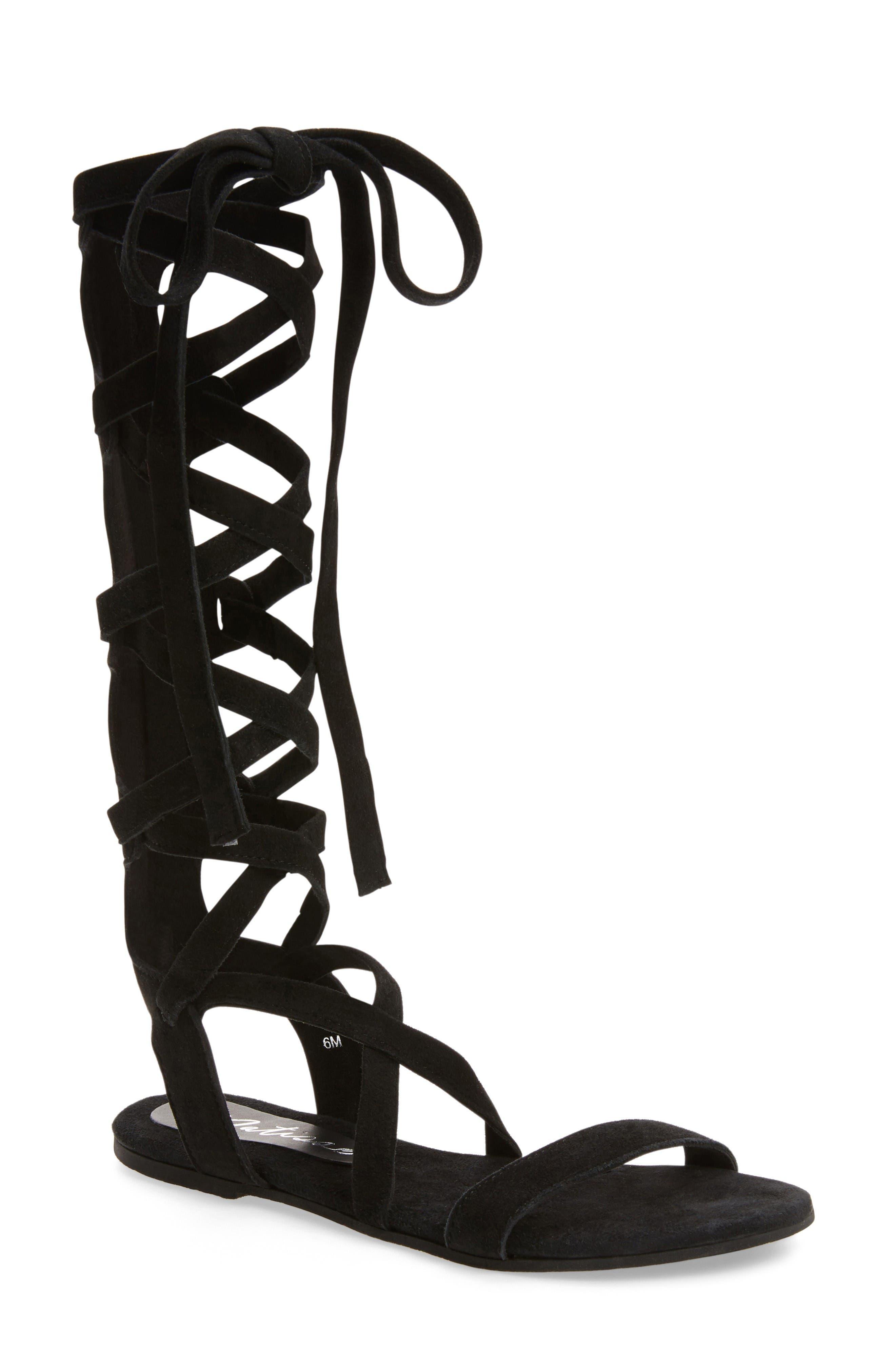Alternate Image 1 Selected - Matisse Zepher Tall Gladiator Sandal (Women)