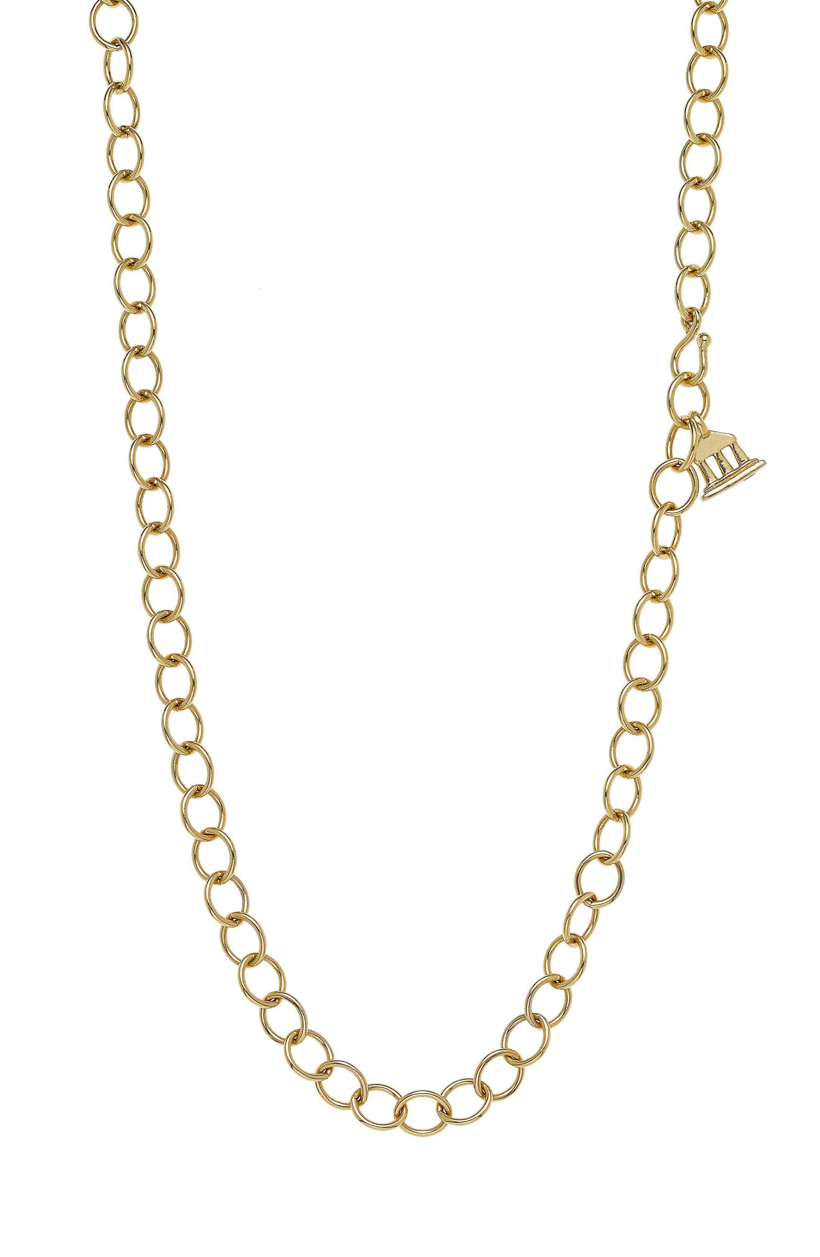 TEMPLE ST CLAIR Temple St. Clair Classic Oval Chain Necklace