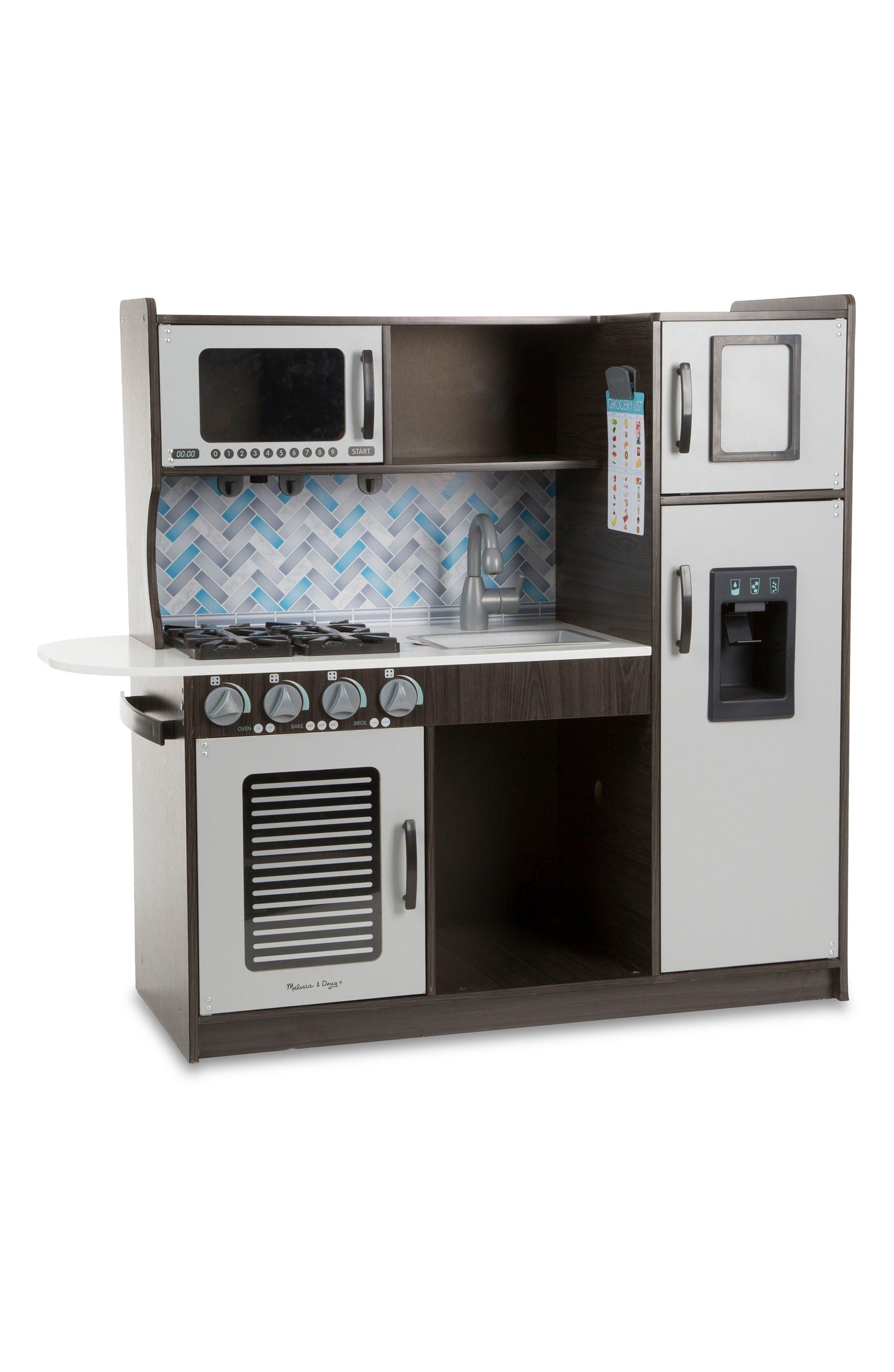 Wooden Chef's Kitchen,                         Main,                         color, Multi