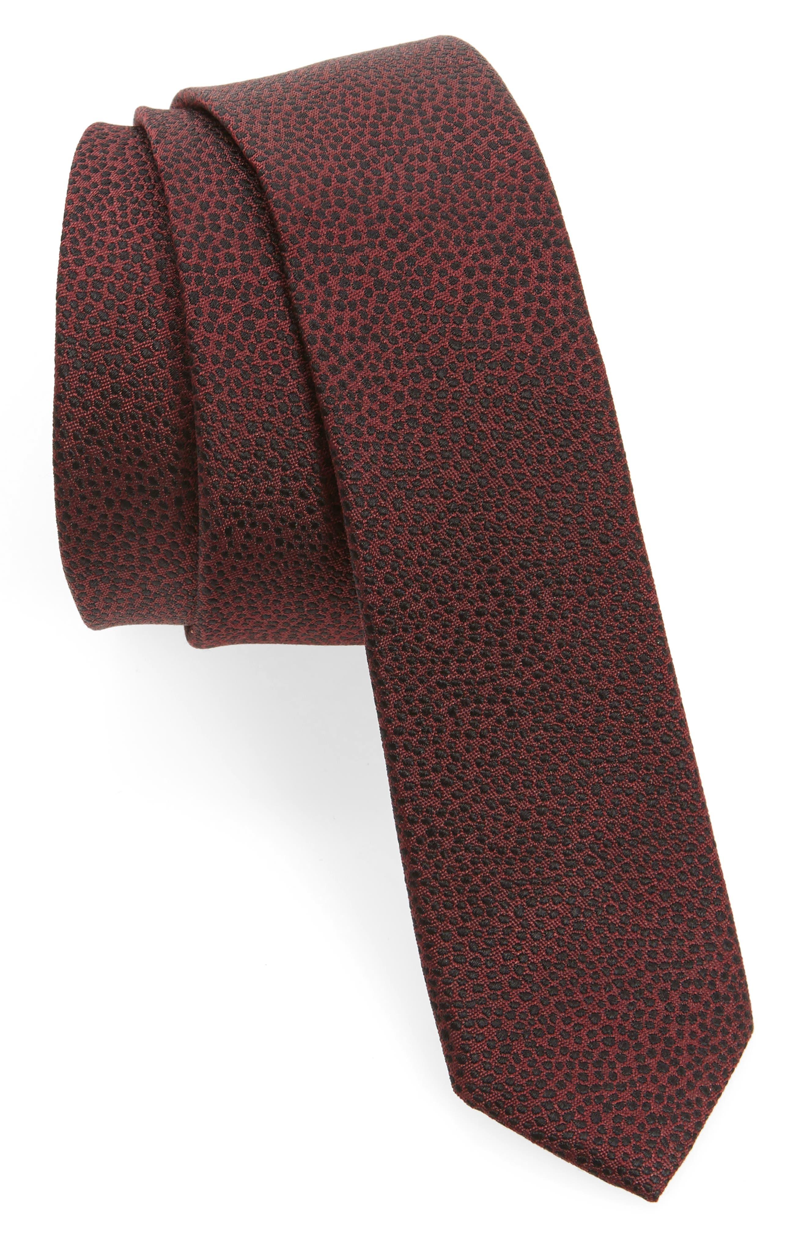 The Kooples New Dots Silk Jacquard Tie