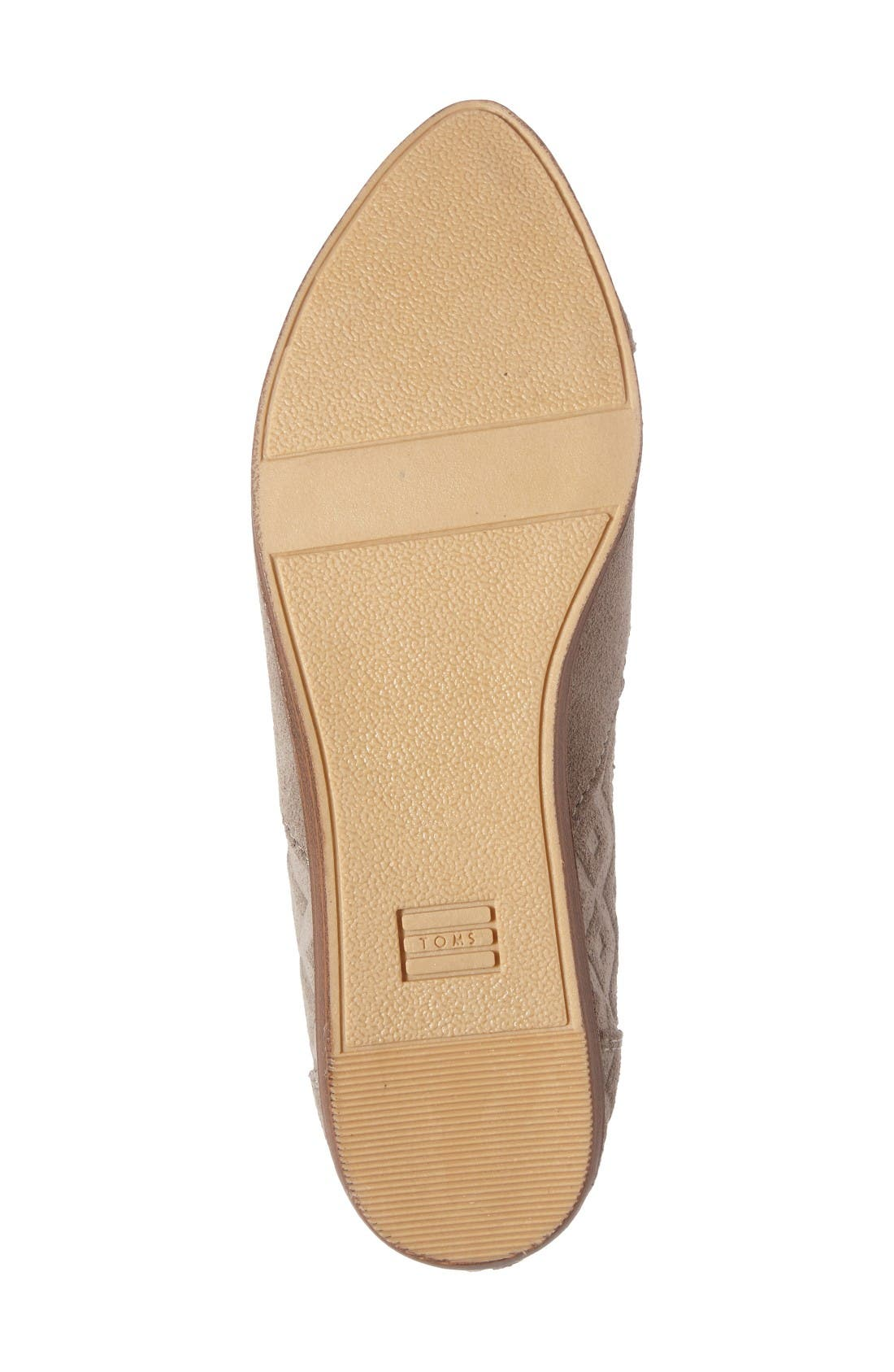 Alternate Image 4  - TOMS Jutti Flat (Women)