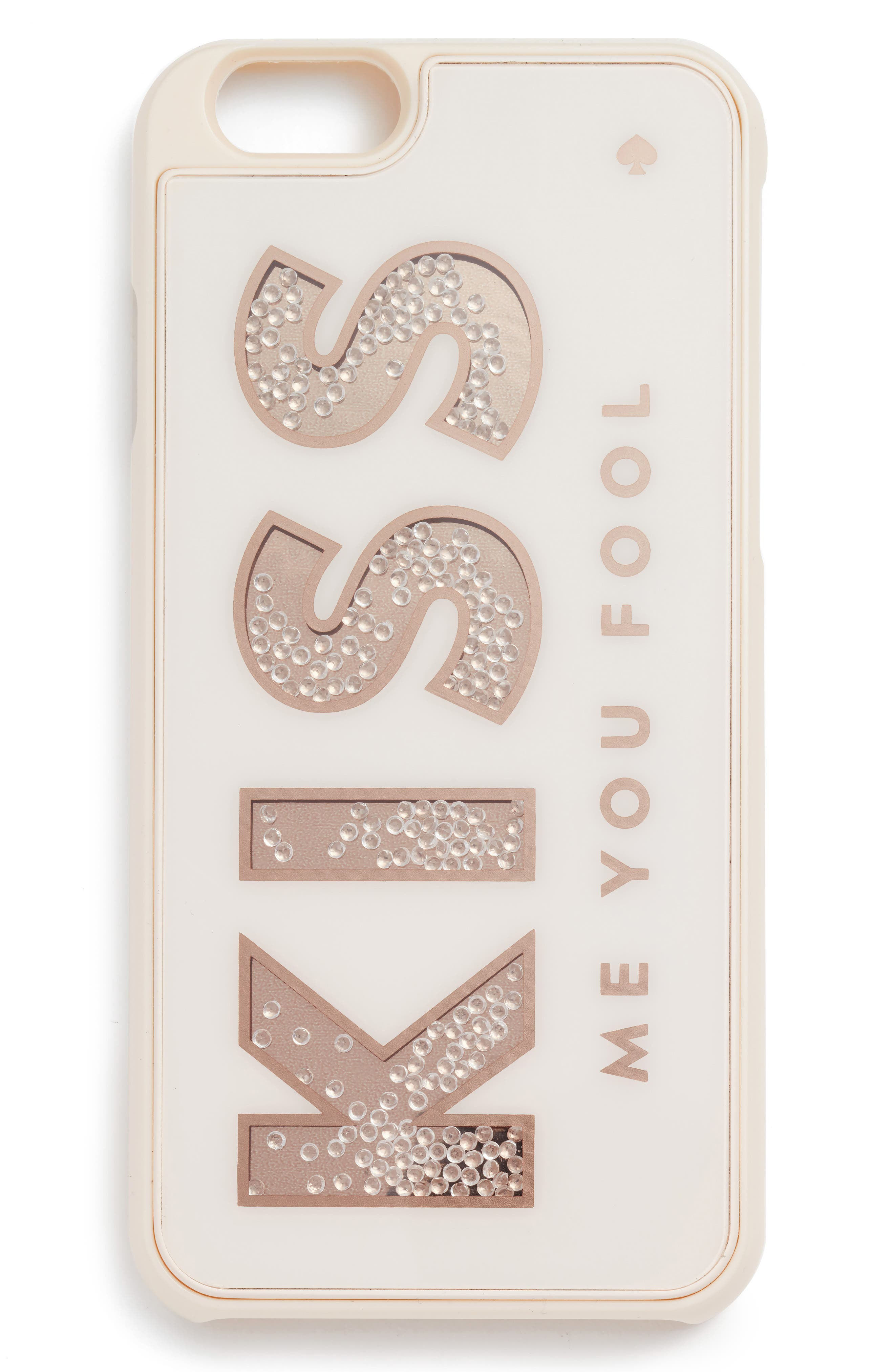 Alternate Image 2  - kate spade new york kiss me you fool iPhone 7 case