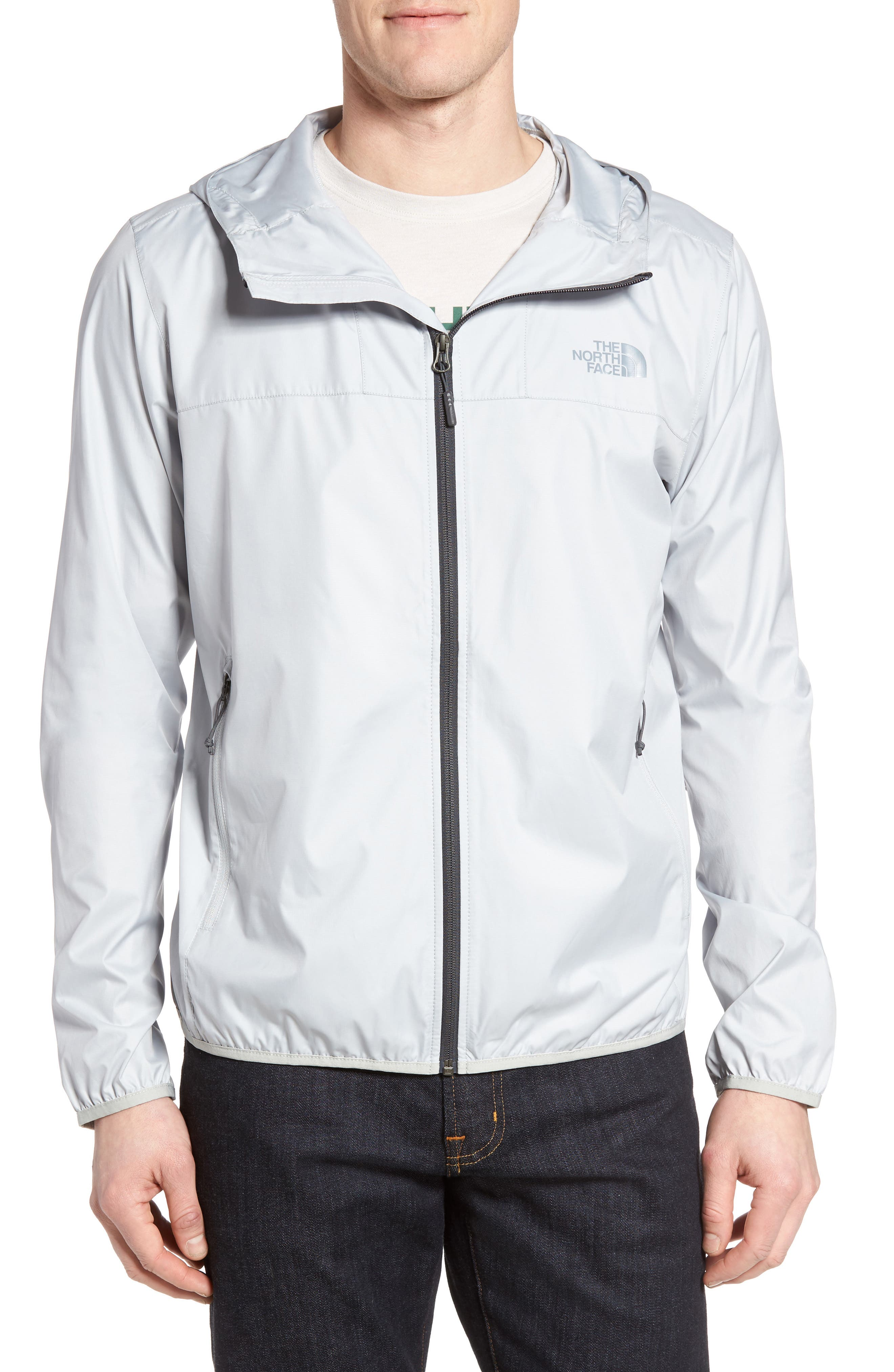 Cyclone 2 WindWall<sup>®</sup> Raincoat,                         Main,                         color, High Rise Grey/ High Rise Grey