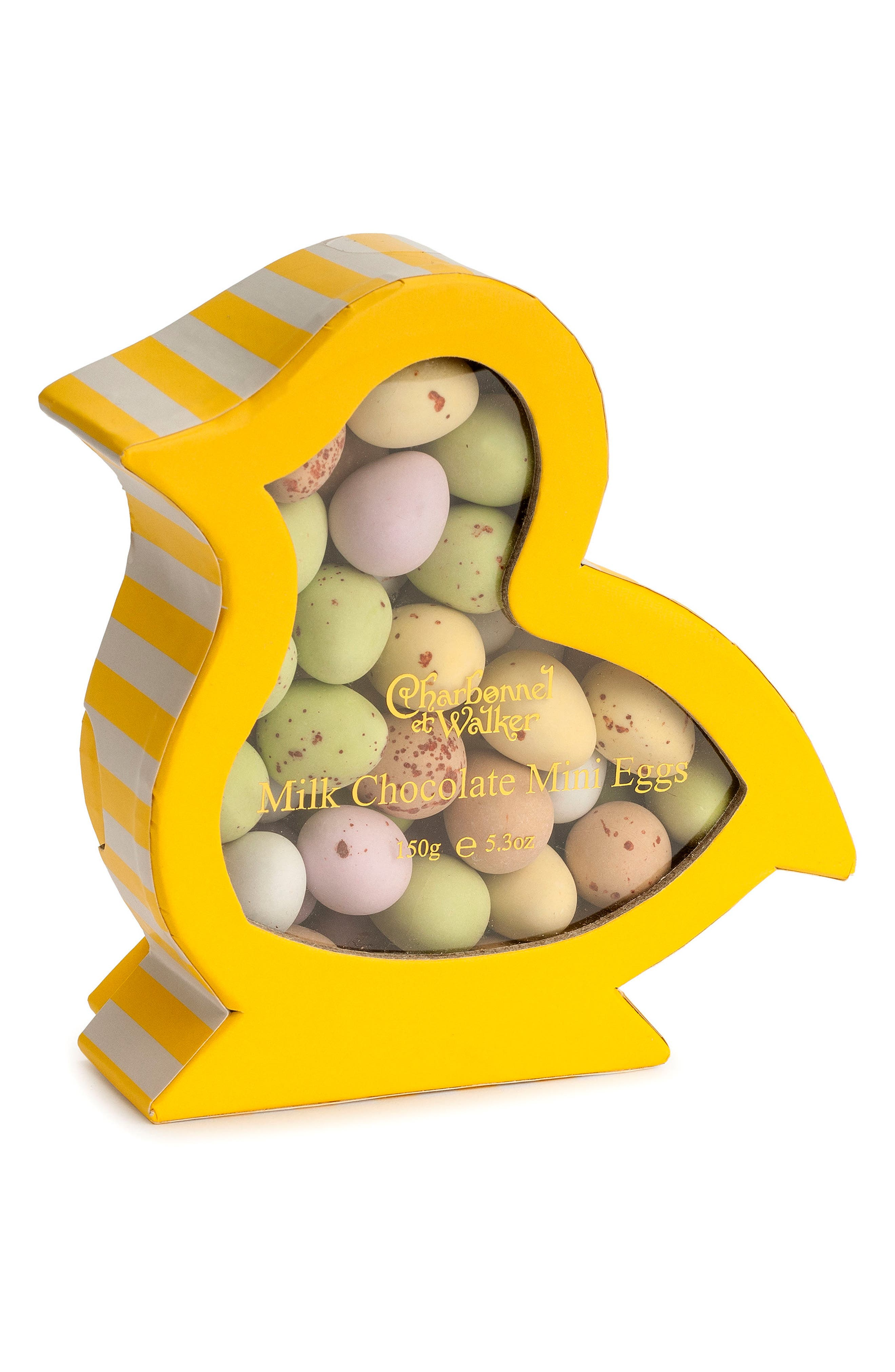 Mini Chocolate Eggs in Gift Box,                             Main thumbnail 1, color,                             Chick