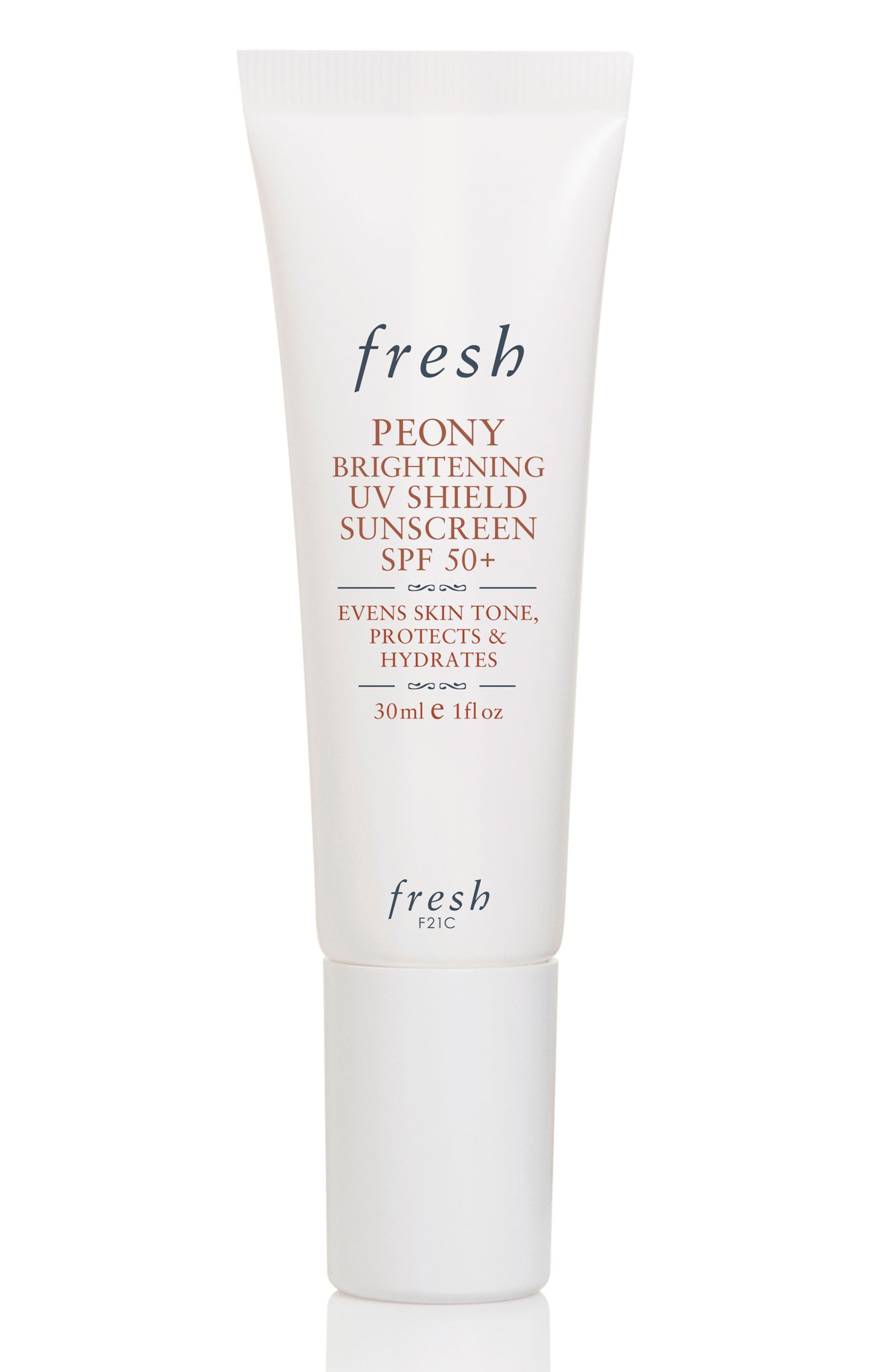 Fresh® Peony Brightening UV Shield Sunscreen SPF 50+
