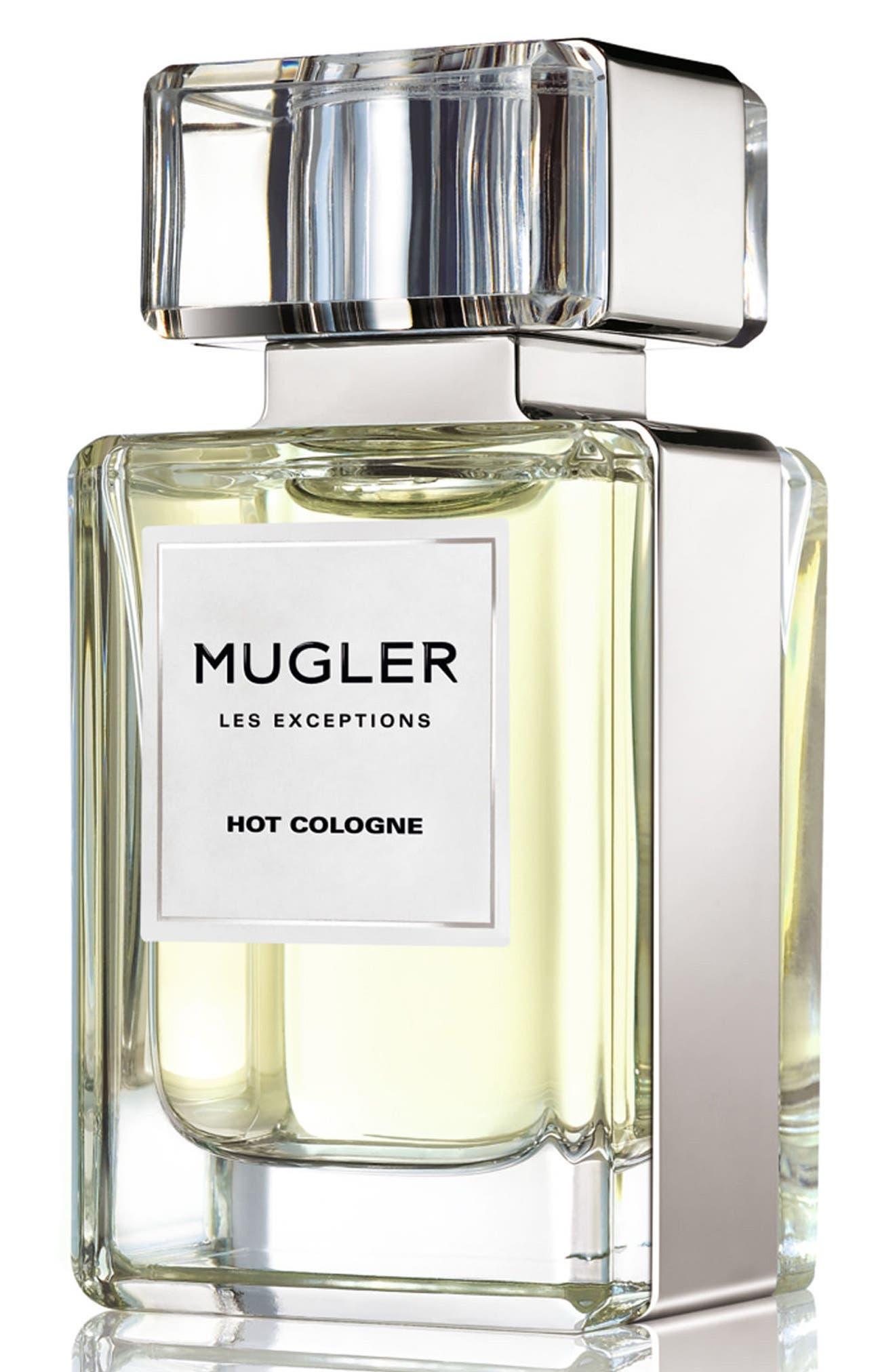 Les Exceptions by Mugler Hot Cologne Eau de Parfum Refillable Spray,                         Main,                         color, No Color