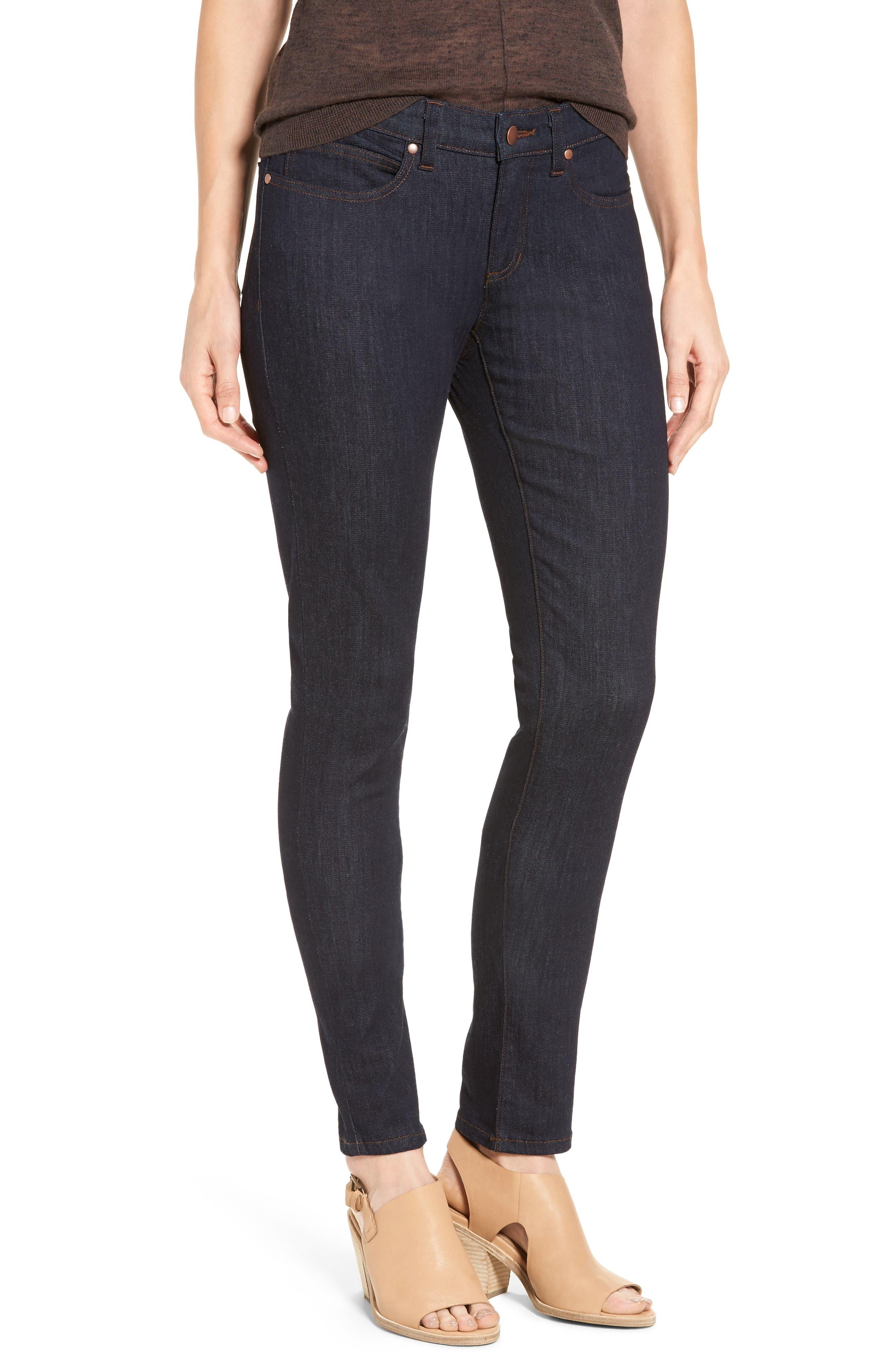 Stretch Skinny Jeans,                         Main,                         color, Indigo