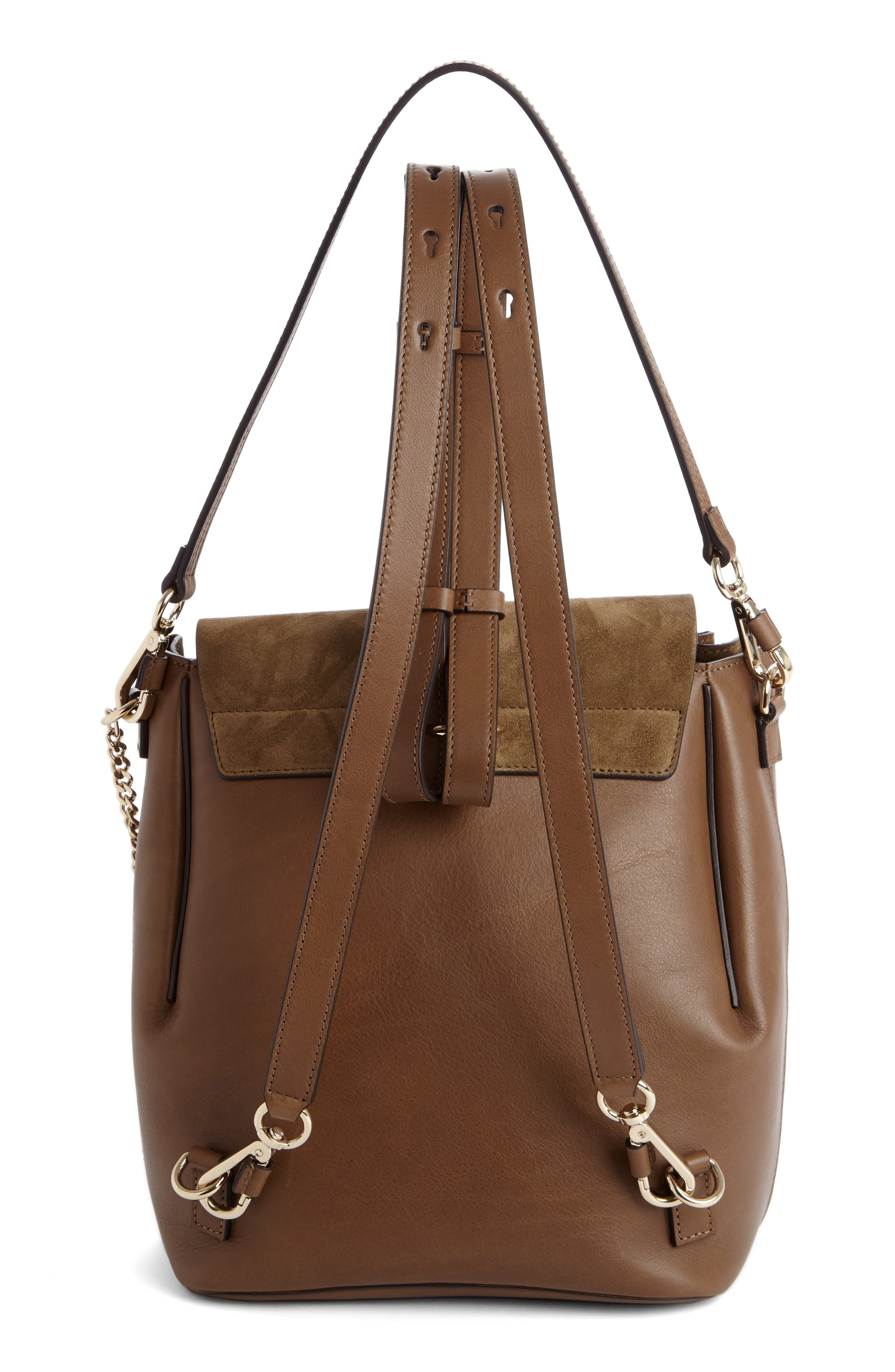 Alternate Image 2  - Chloé Medium Faye Suede & Leather Backpack