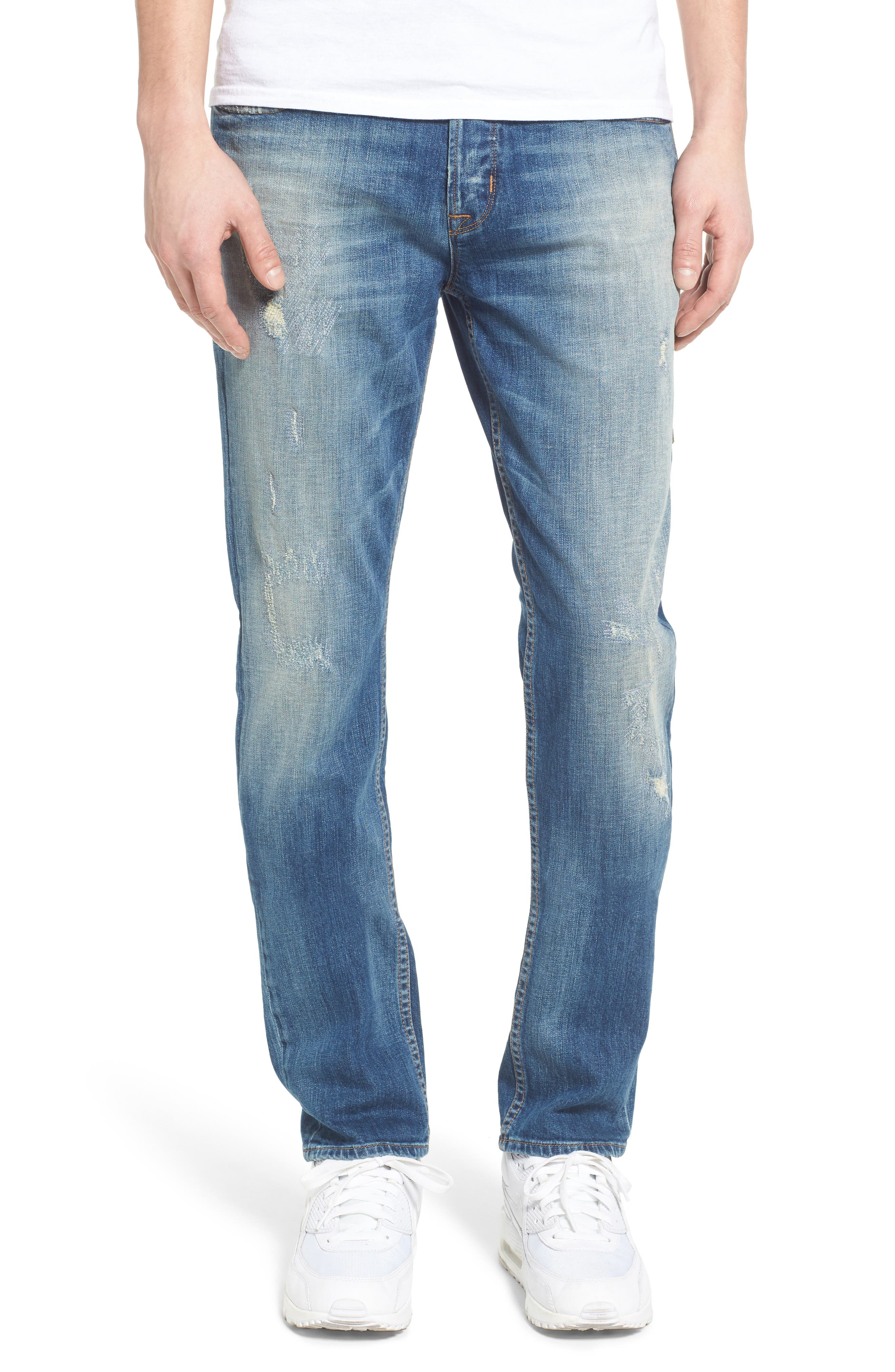 Hudson Jeans Sartor Slouchy Skinny Fit Jeans (Uppercut)