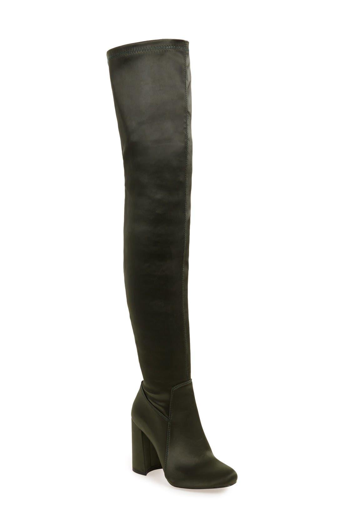 Main Image - Jeffrey Campbell Perouze 2 Thigh High Stretch Boot (Women)