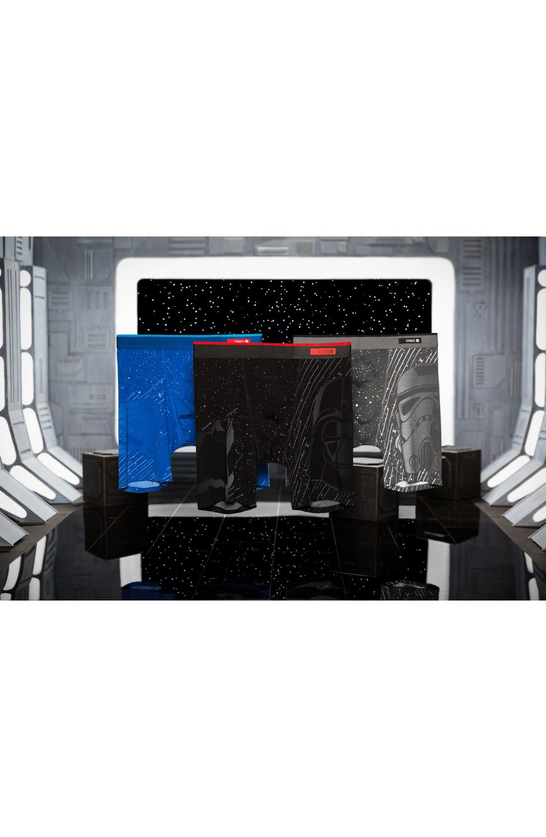 Alternate Image 5  - Stance Del Mar Star Wars™ Stormtrooper Boxer Briefs