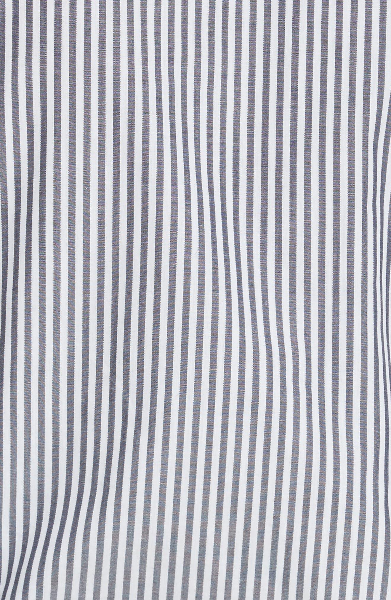 Alternate Image 5  - Tanya Taylor Klara Stripe Bell Sleeve Top