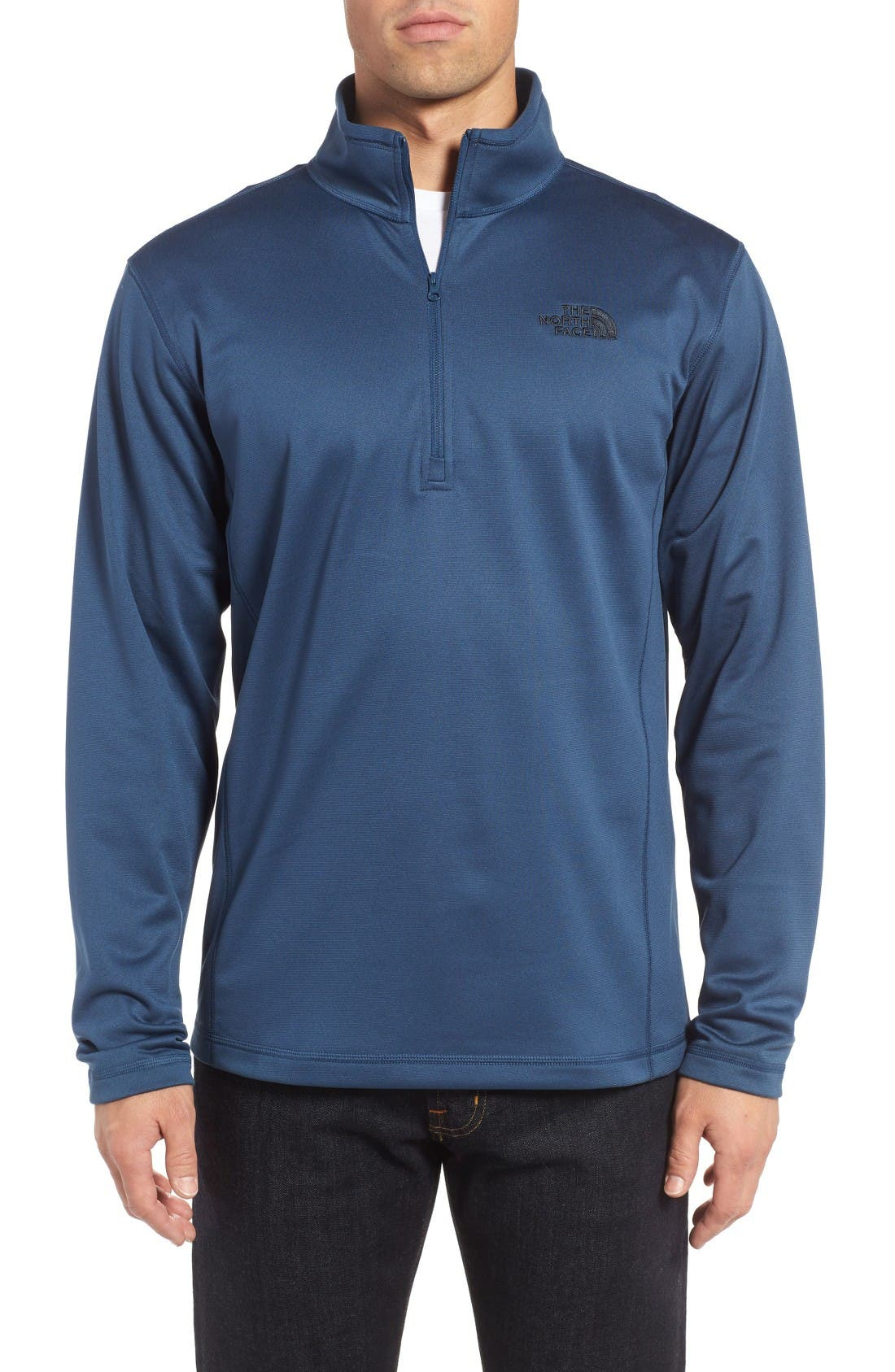 Alternate Image 1 Selected - The North Face Glacier Zip Pullover