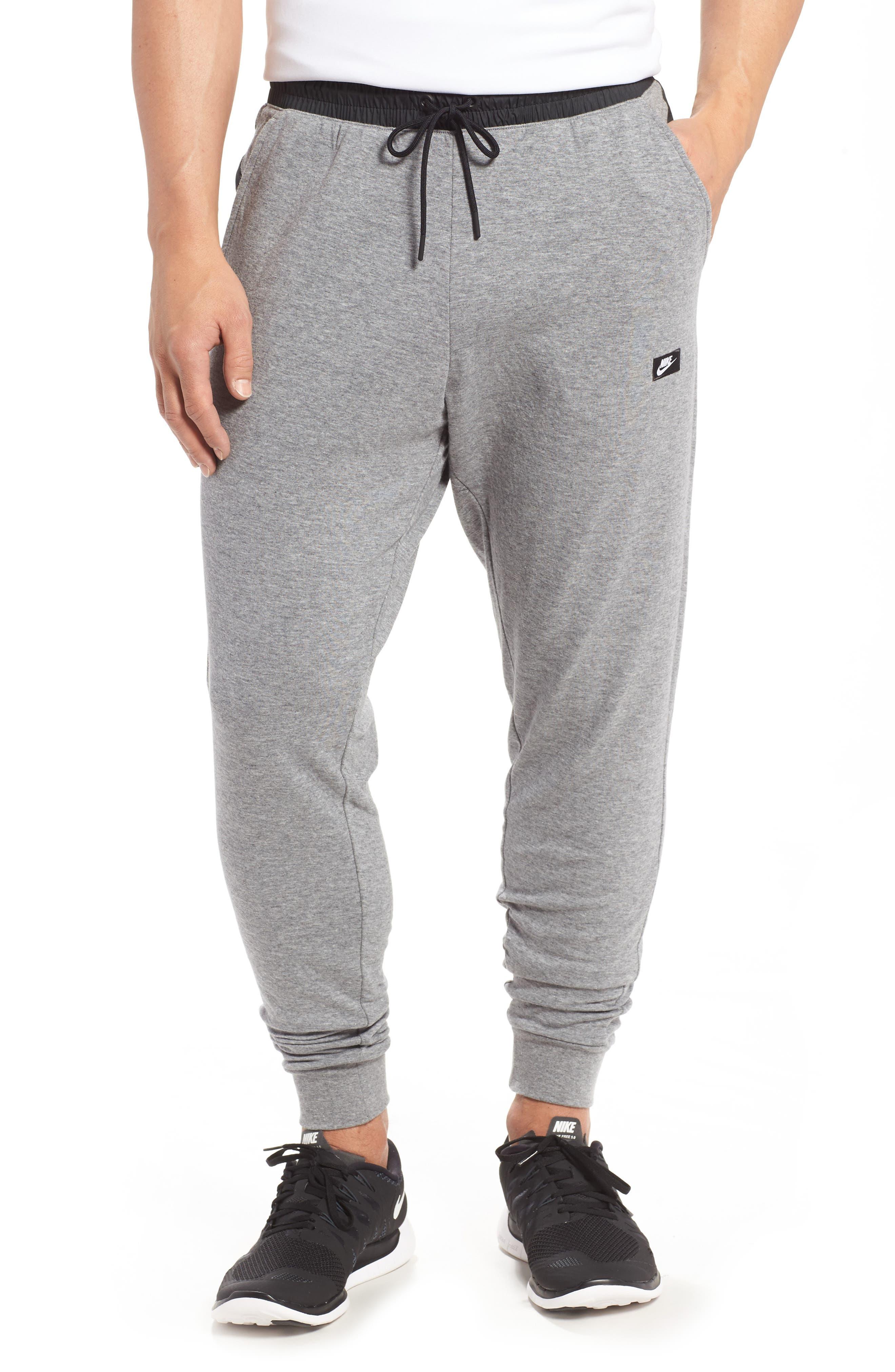 Modern Jogger Pants,                         Main,                         color, Carbon Heather/ Black