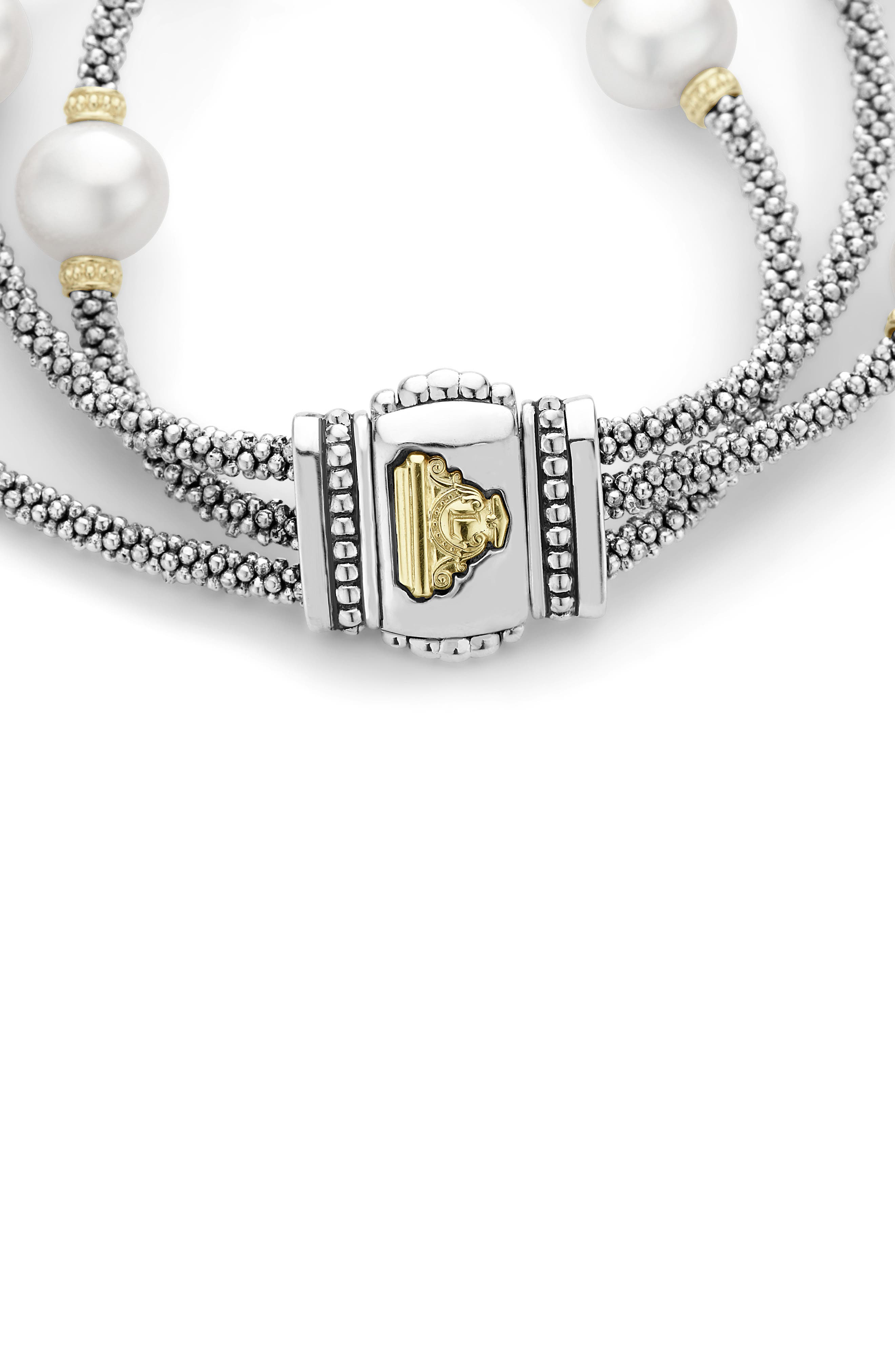 Alternate Image 2  - LAGOS Luna Pearl Caviar Multistrand Bracelet