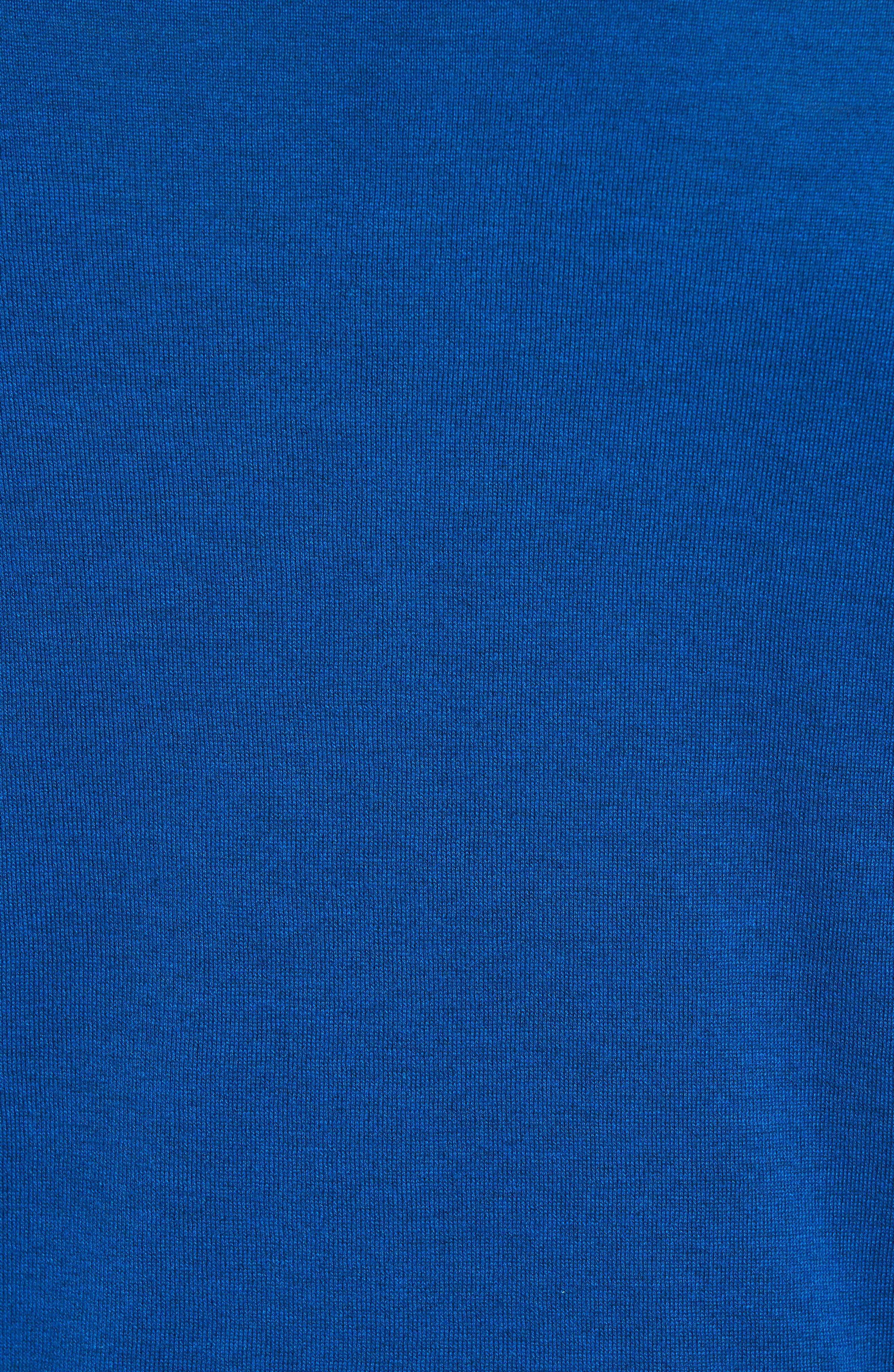 Seal Island Cotton Polo,                             Alternate thumbnail 5, color,                             Stevens Blue