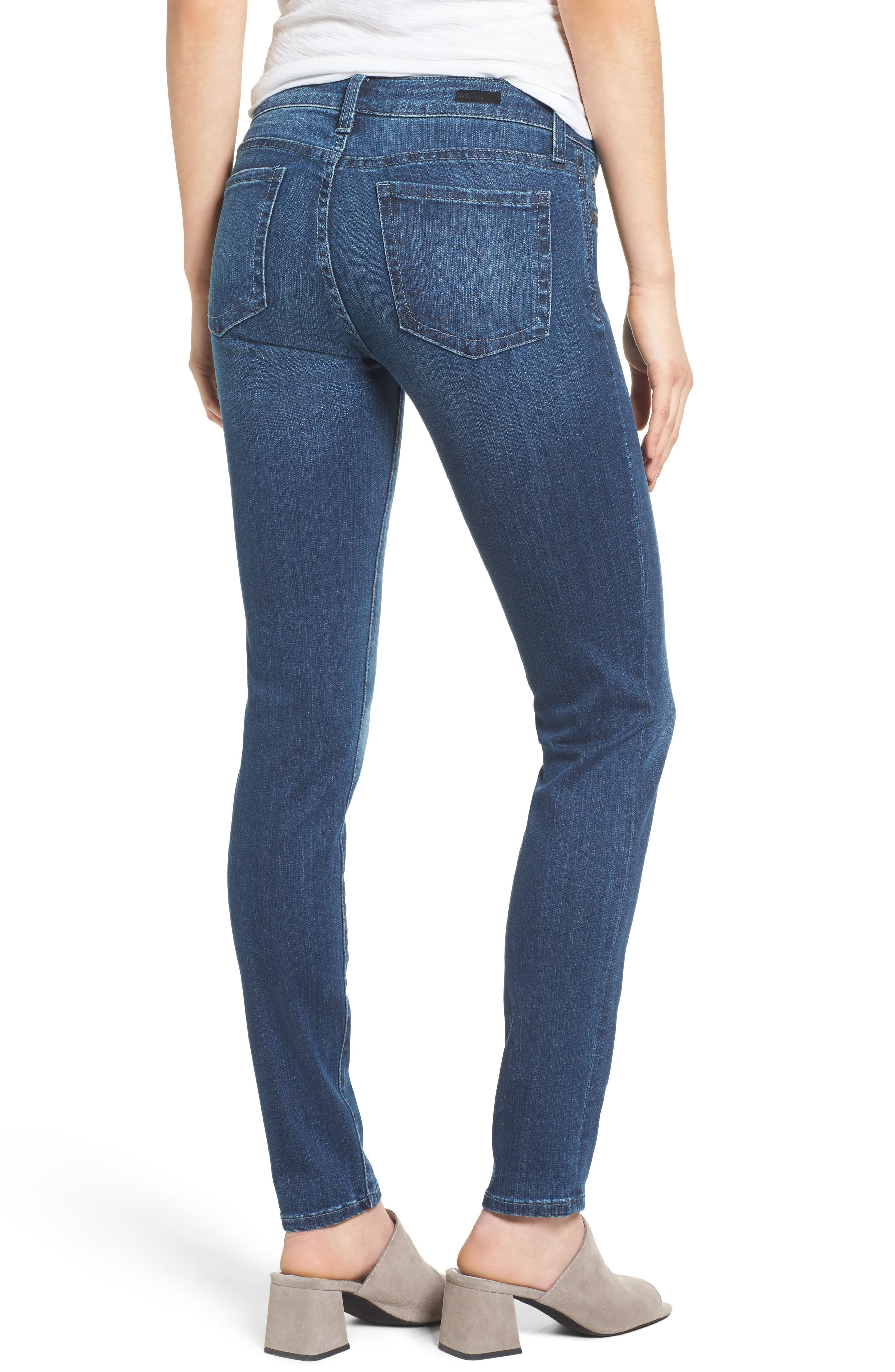 Alternate Image 2  - KUT from the Kloth Diana Stretch Skinny Jeans (Moderation) (Regular & Petite)
