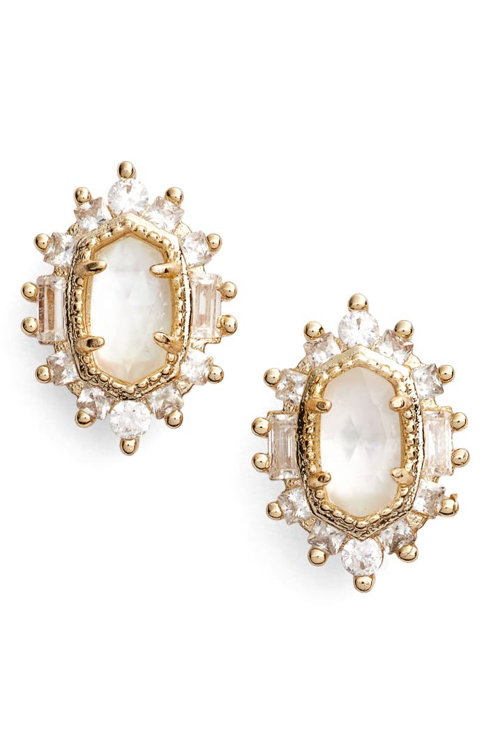 kendra earrings studs kendra kaia stud earrings nordstrom 1431