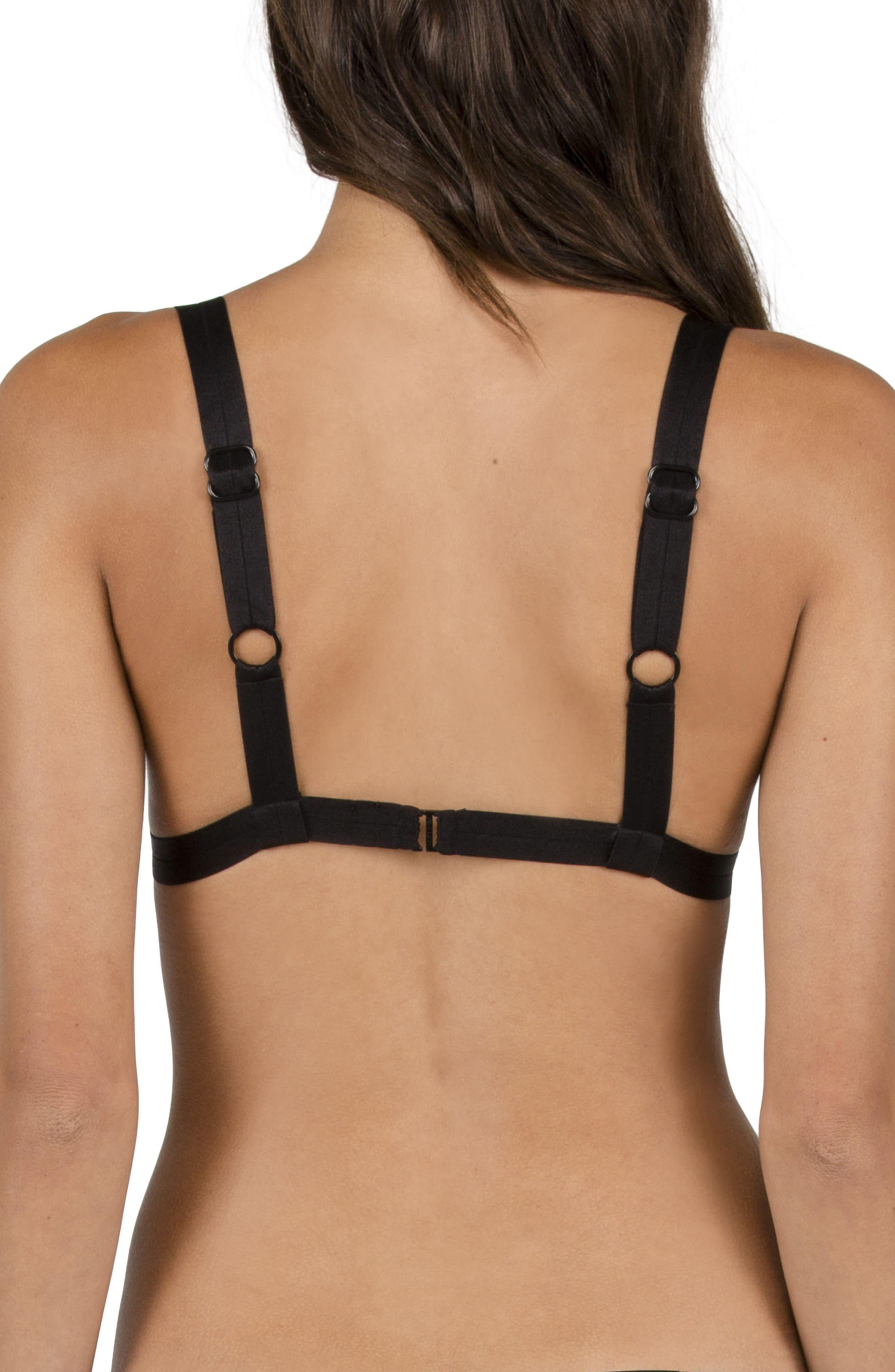 Alternate Image 2  - Volcom Buds Forever Triangle Bikini Top