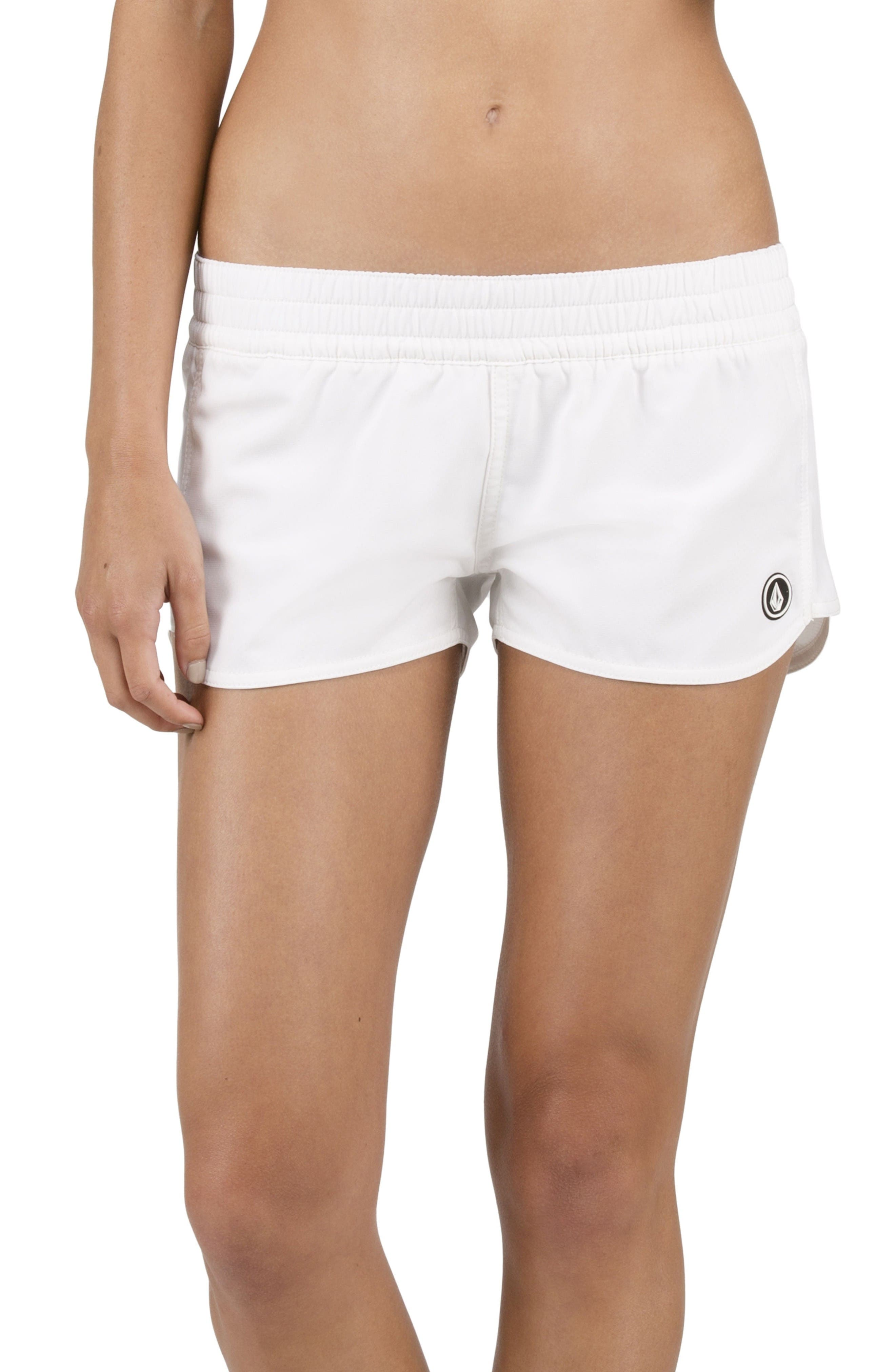 Alternate Image 2  - Volcom Simply Solid Board Shorts