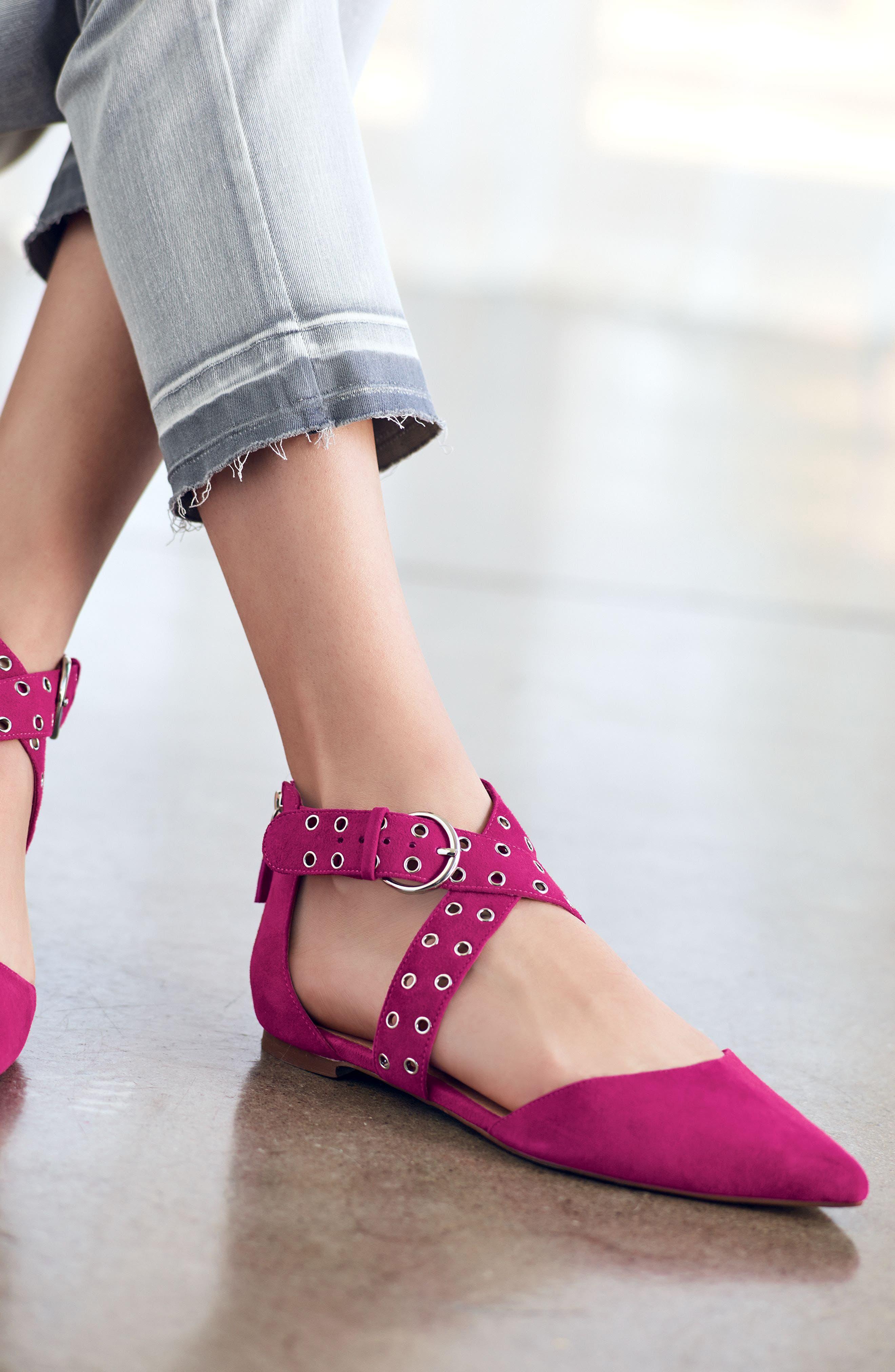 Alternate Image 8  - Halogen® Molly Pointy Toe Flat (Women)