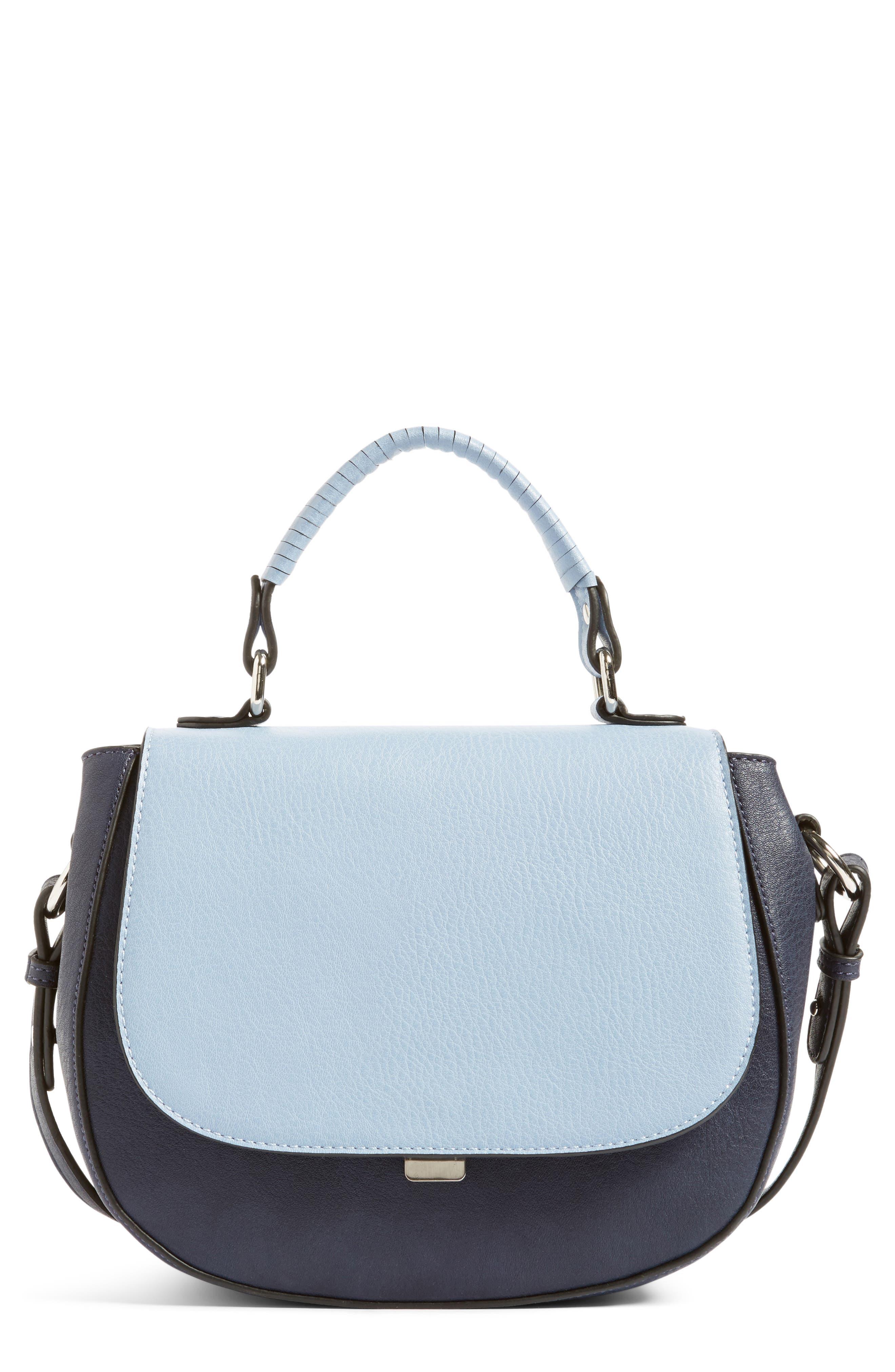 CHELSEA28 Kyle Faux Leather Saddle Bag