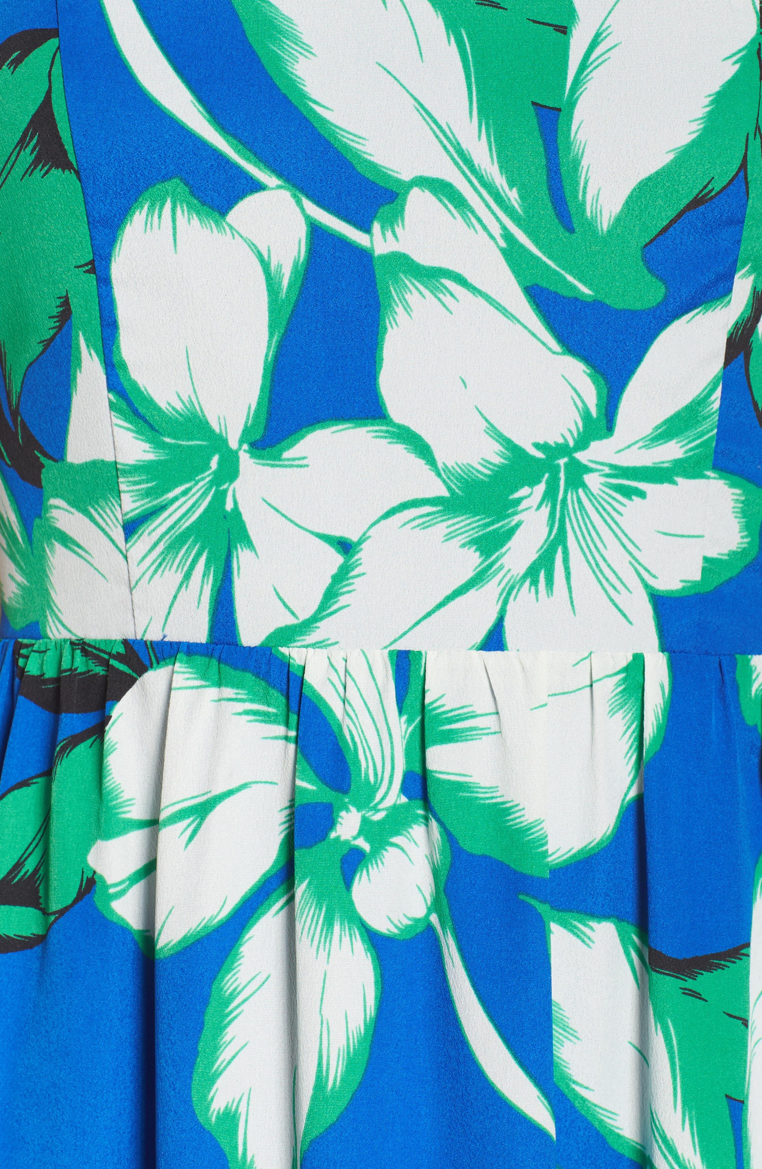 Alternate Image 5  - Chelsea28 Cutaway Shoulder Maxi Dress