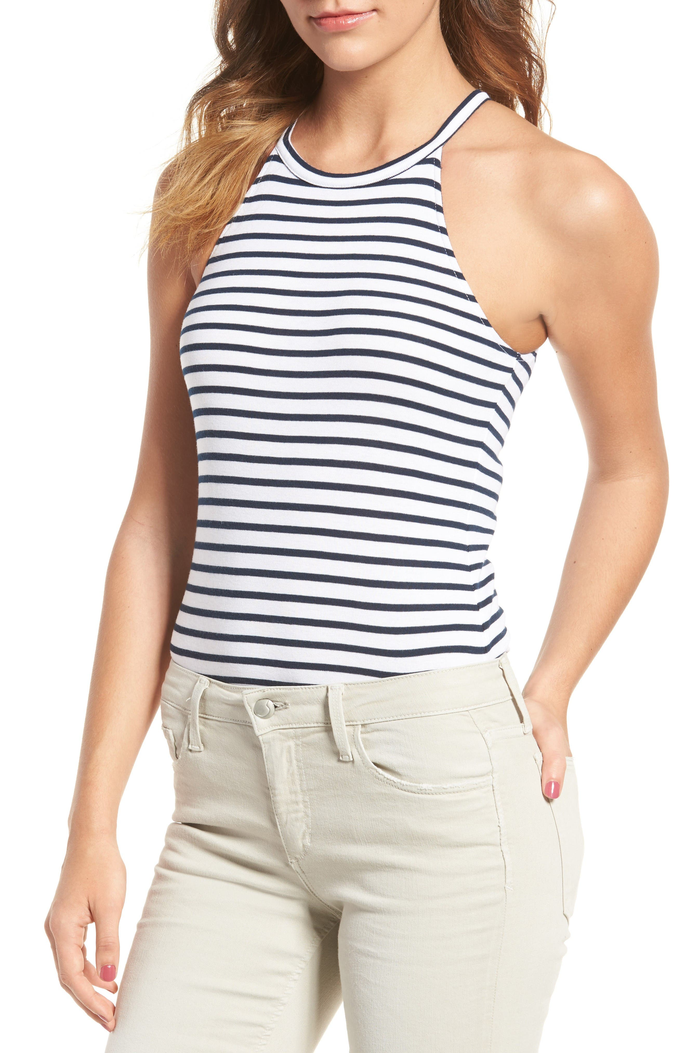Splendid Venice Stripe Bodysuit
