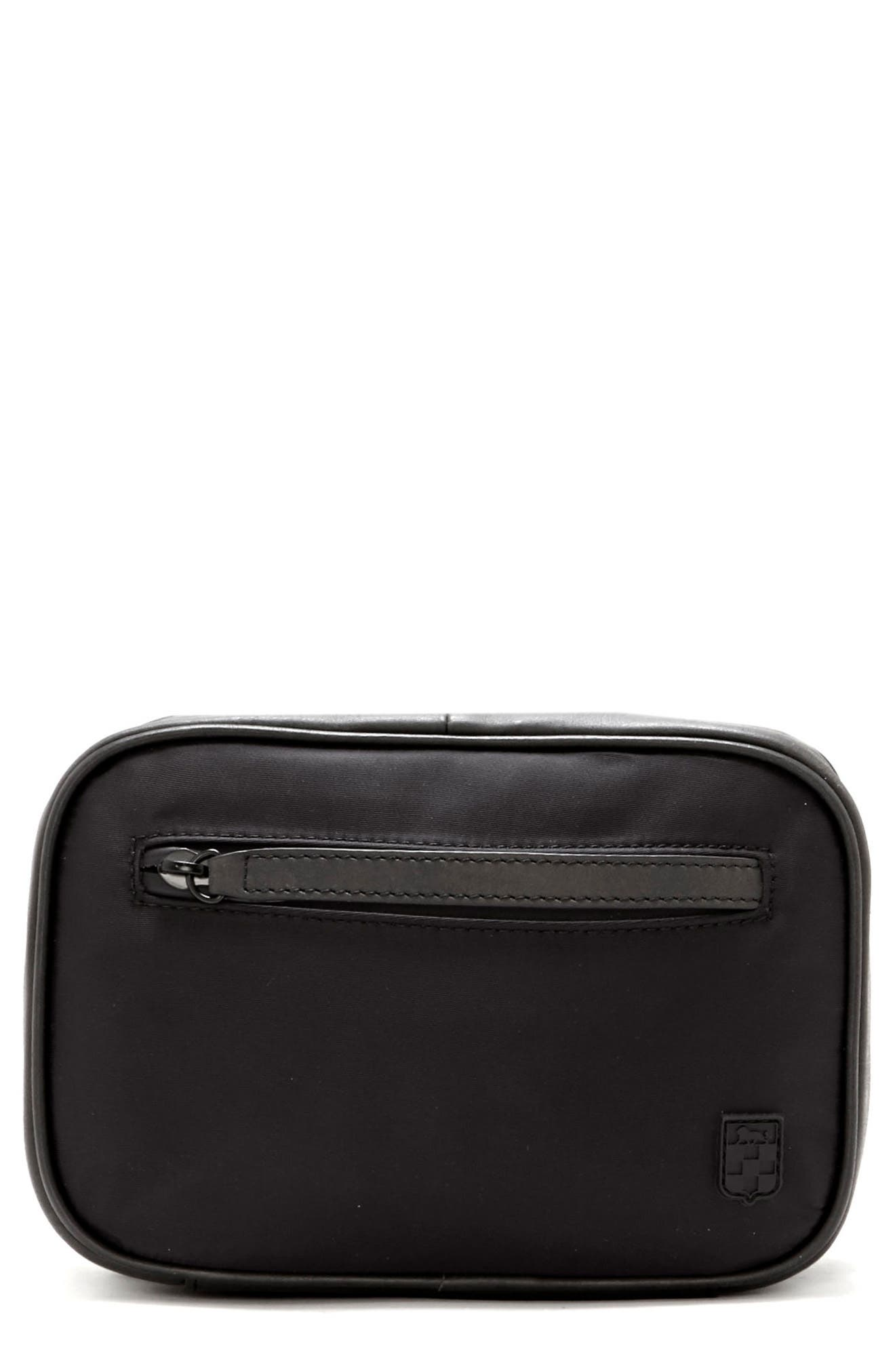Sier Dopp Kit,                         Main,                         color, Black/ Black