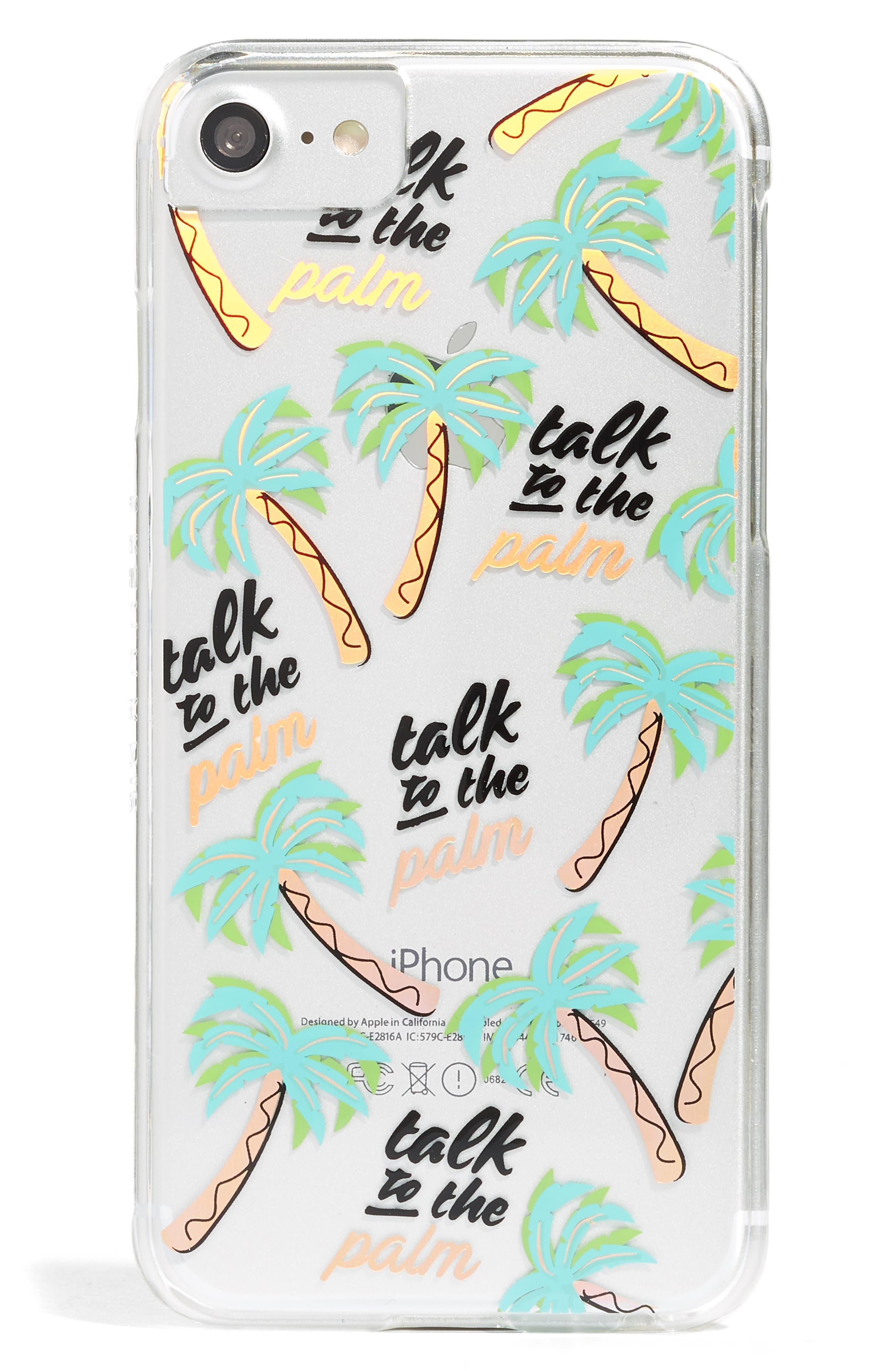 Skinnydip Talk to the Palm iPhone 6/7 & 6/7 Plus Case