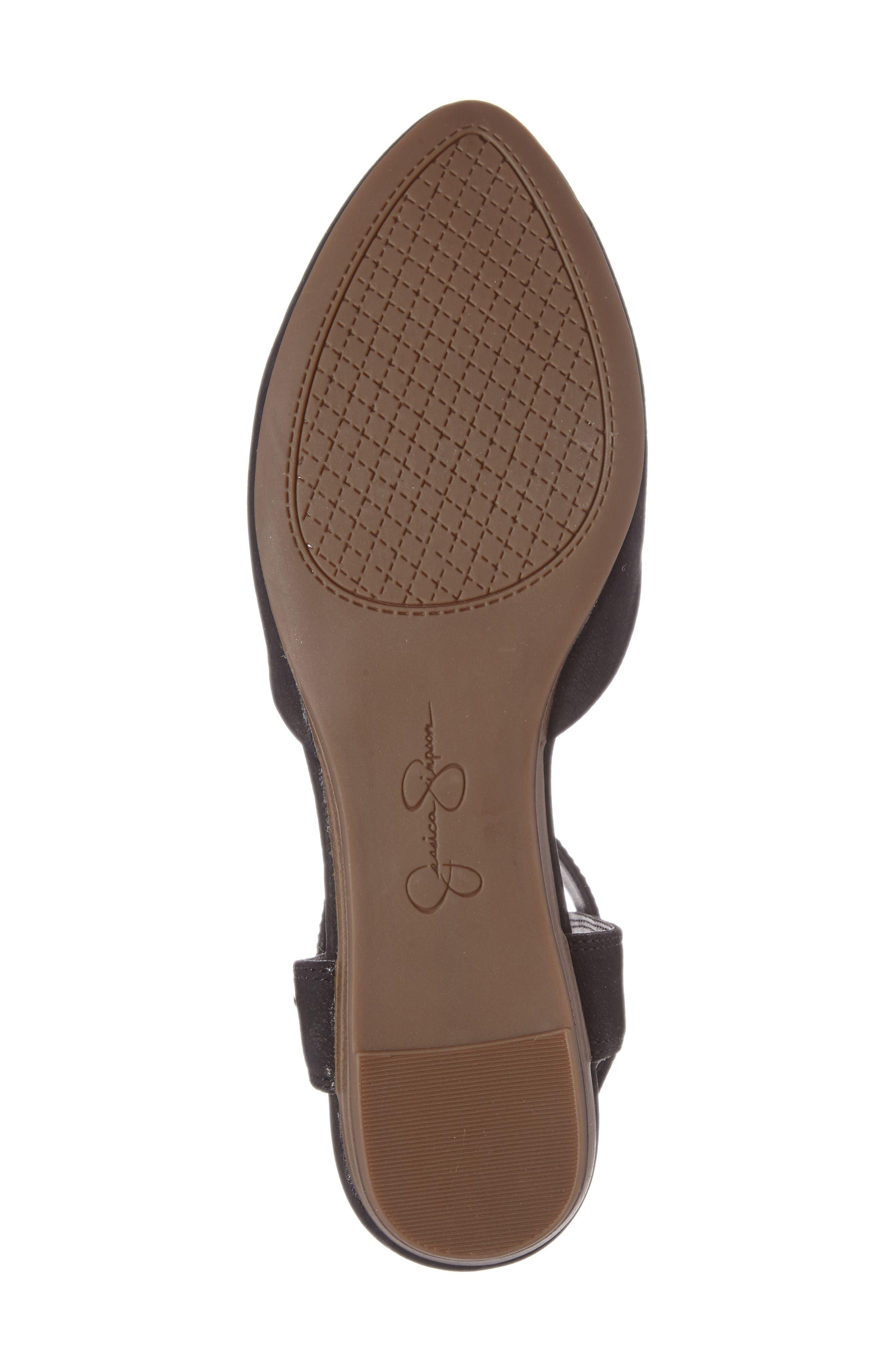Alternate Image 4  - Jessica Simpson Loranda Ankle Strap Flat (Women)