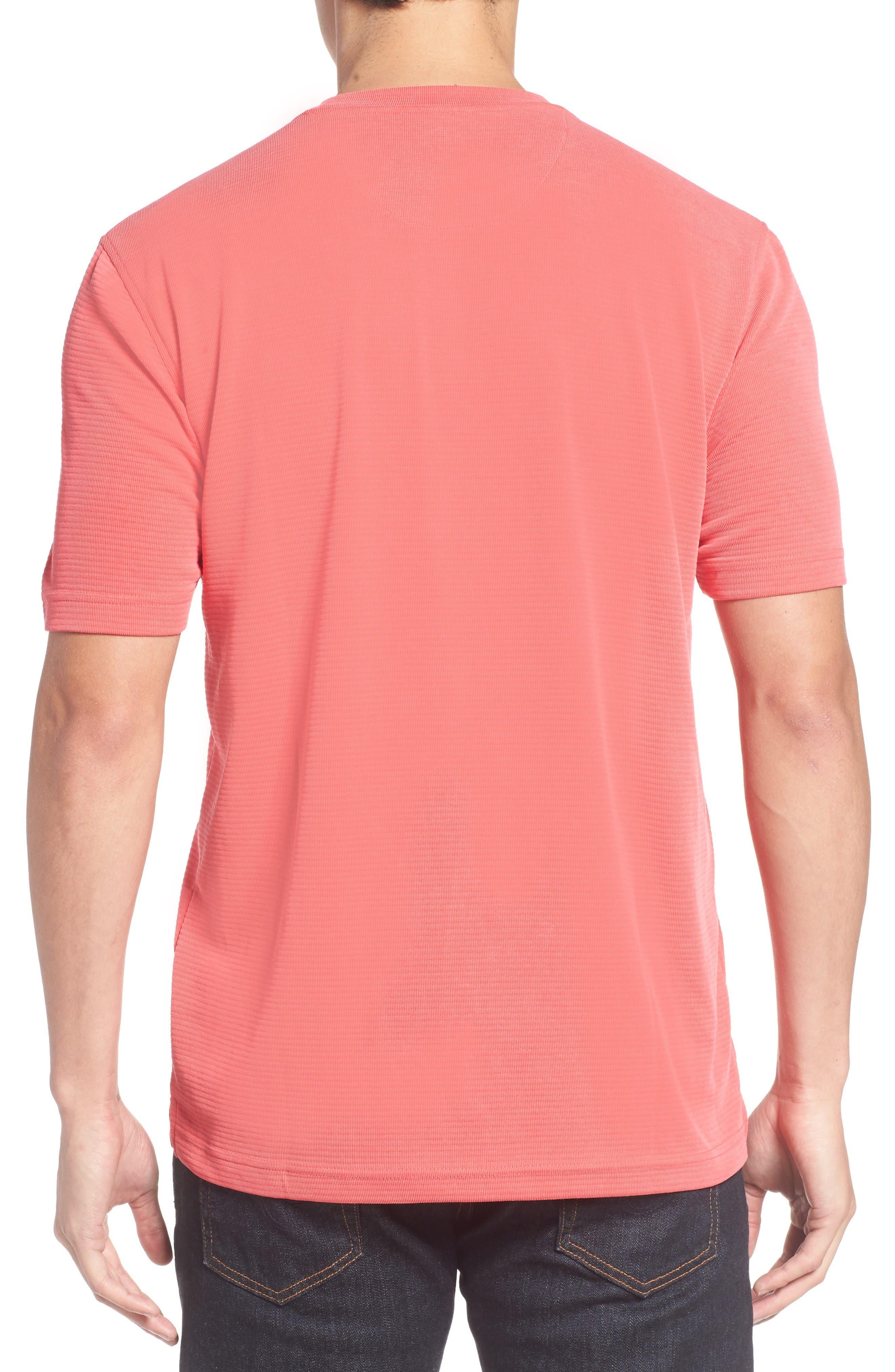 Crewneck T-Shirt,                             Alternate thumbnail 2, color,                             Cherry
