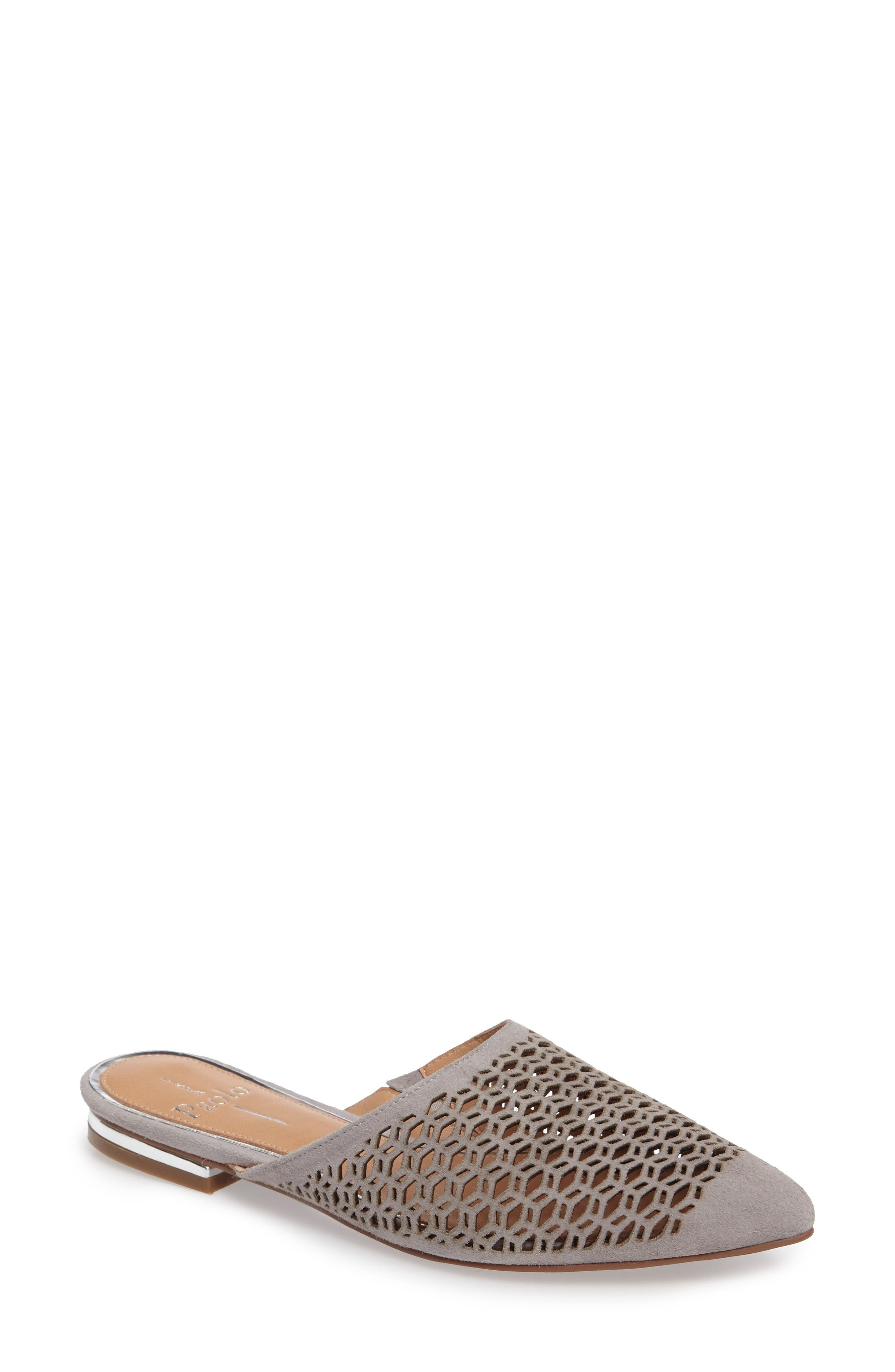 Main Image - Linea Paolo Daisy Perforated Mule (Women)