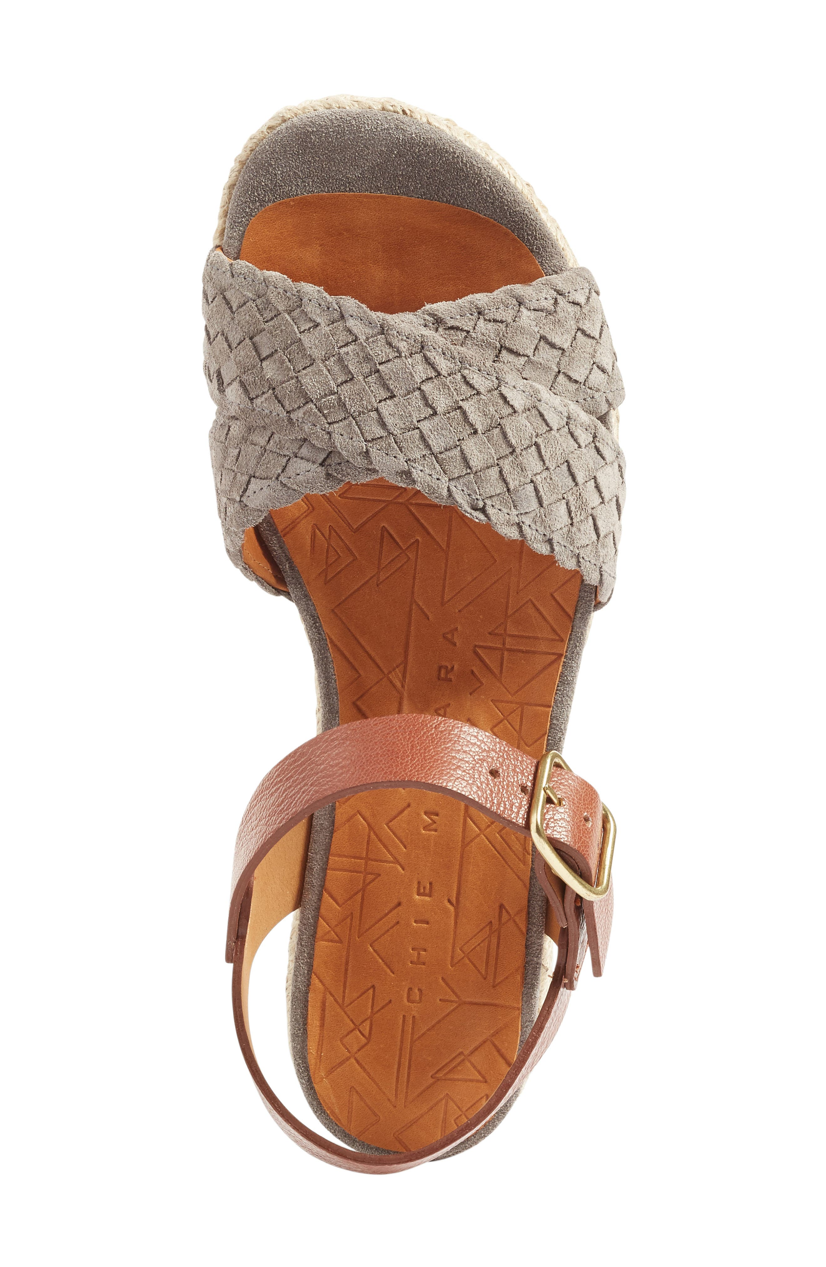Hena Sandal,                             Alternate thumbnail 3, color,                             Stone/ Castano