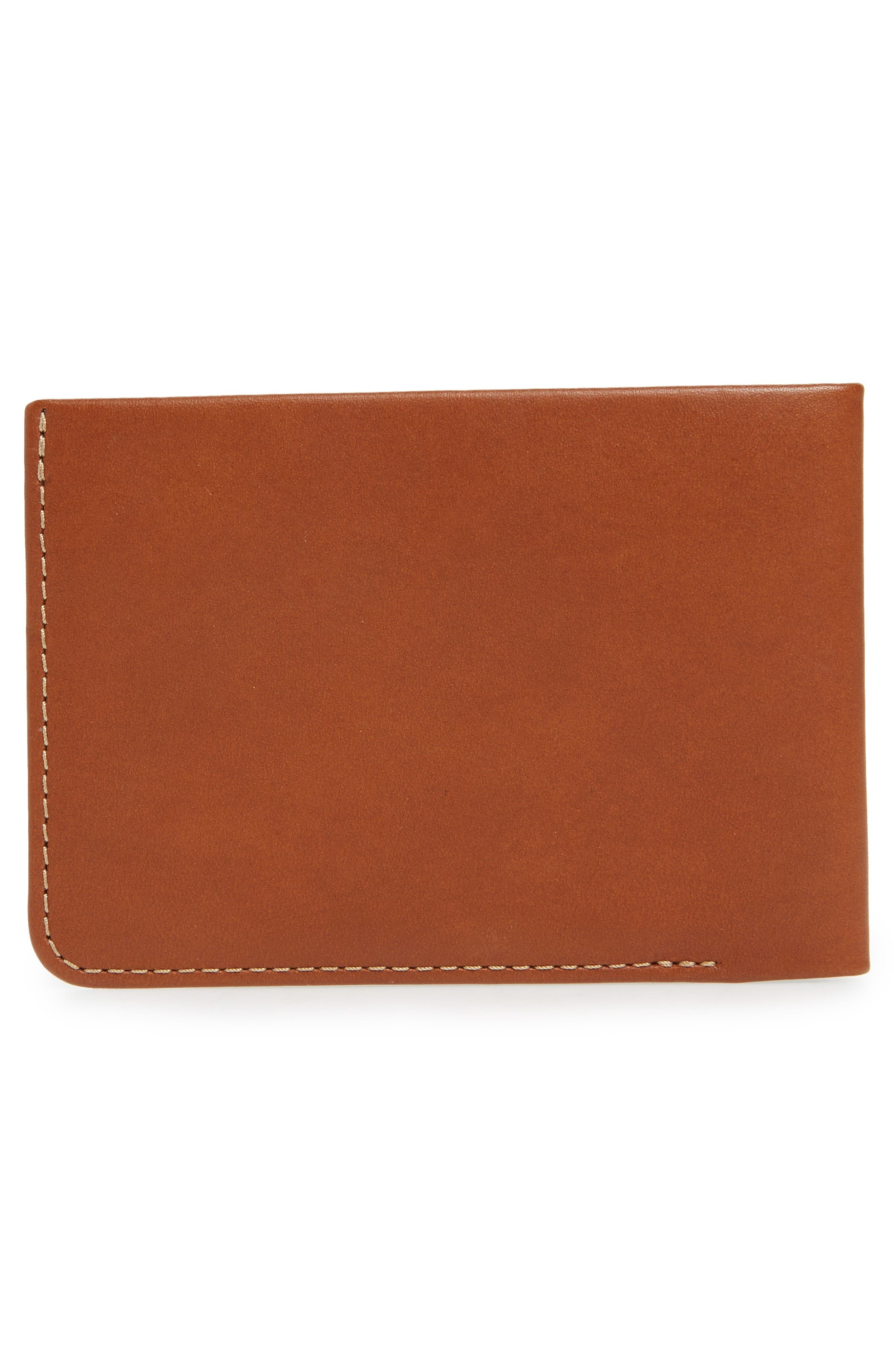 Alternate Image 3  - Bellroy Low Down Leather Wallet