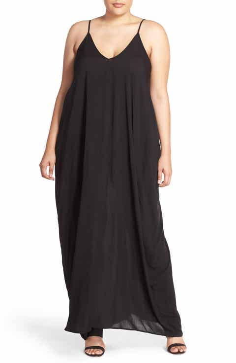 Elan Cover-Up Maxi Dress (Plus Size)