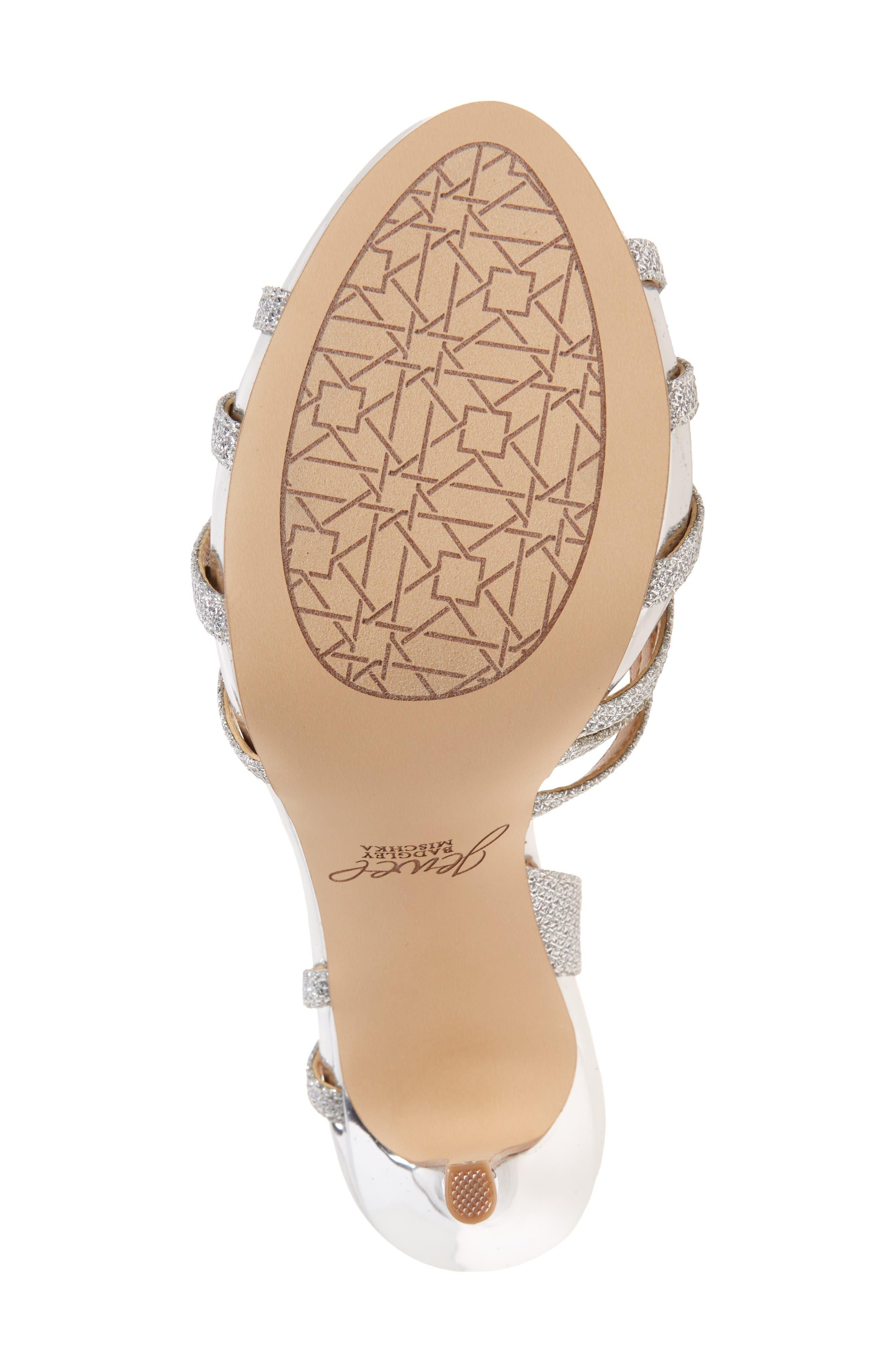 Alternate Image 4  - Jewel Badgley Mischka Humble Strappy Sandal (Women)