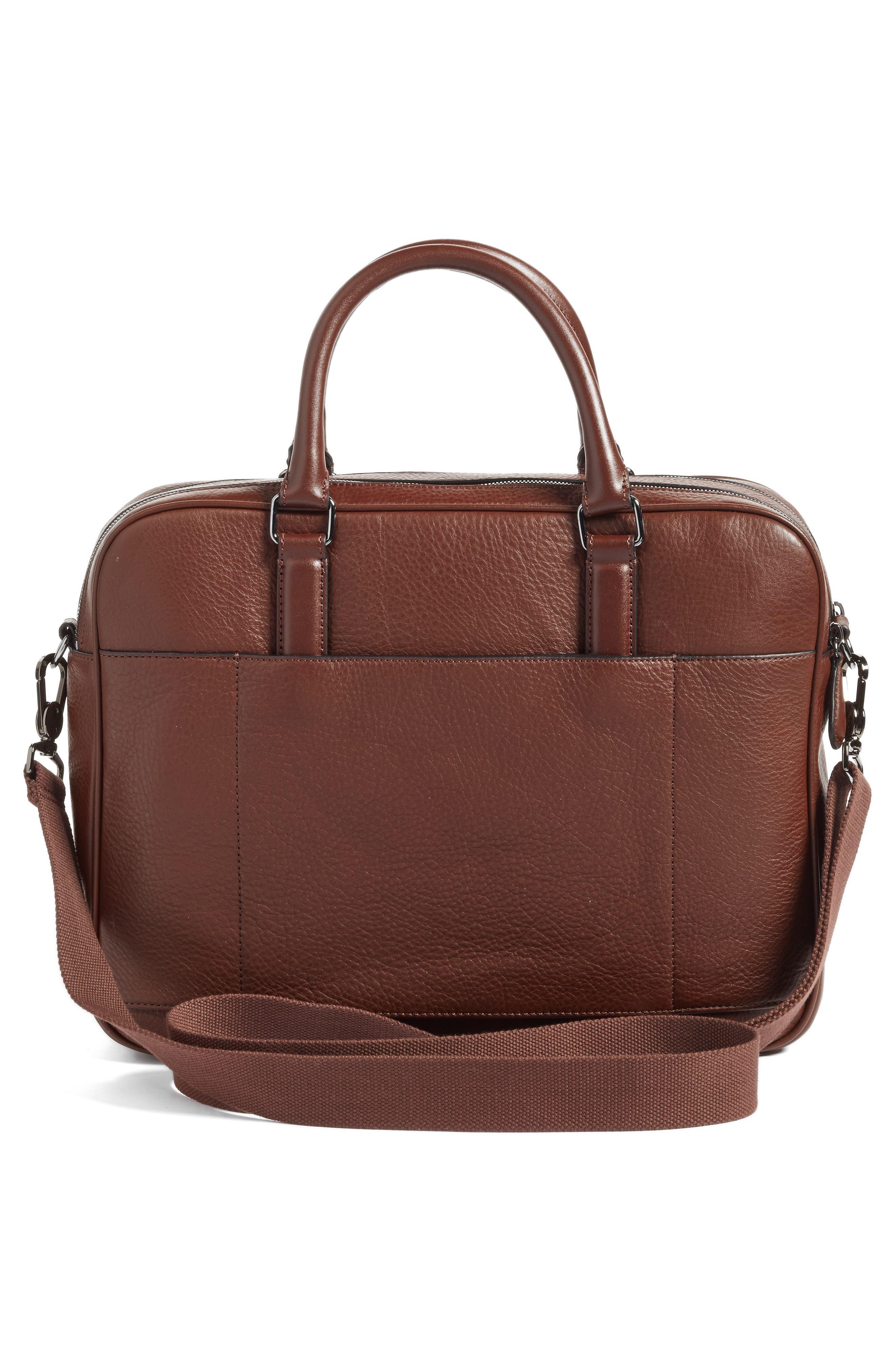 Alternate Image 3  - Ted Baker London Leather Document Bag