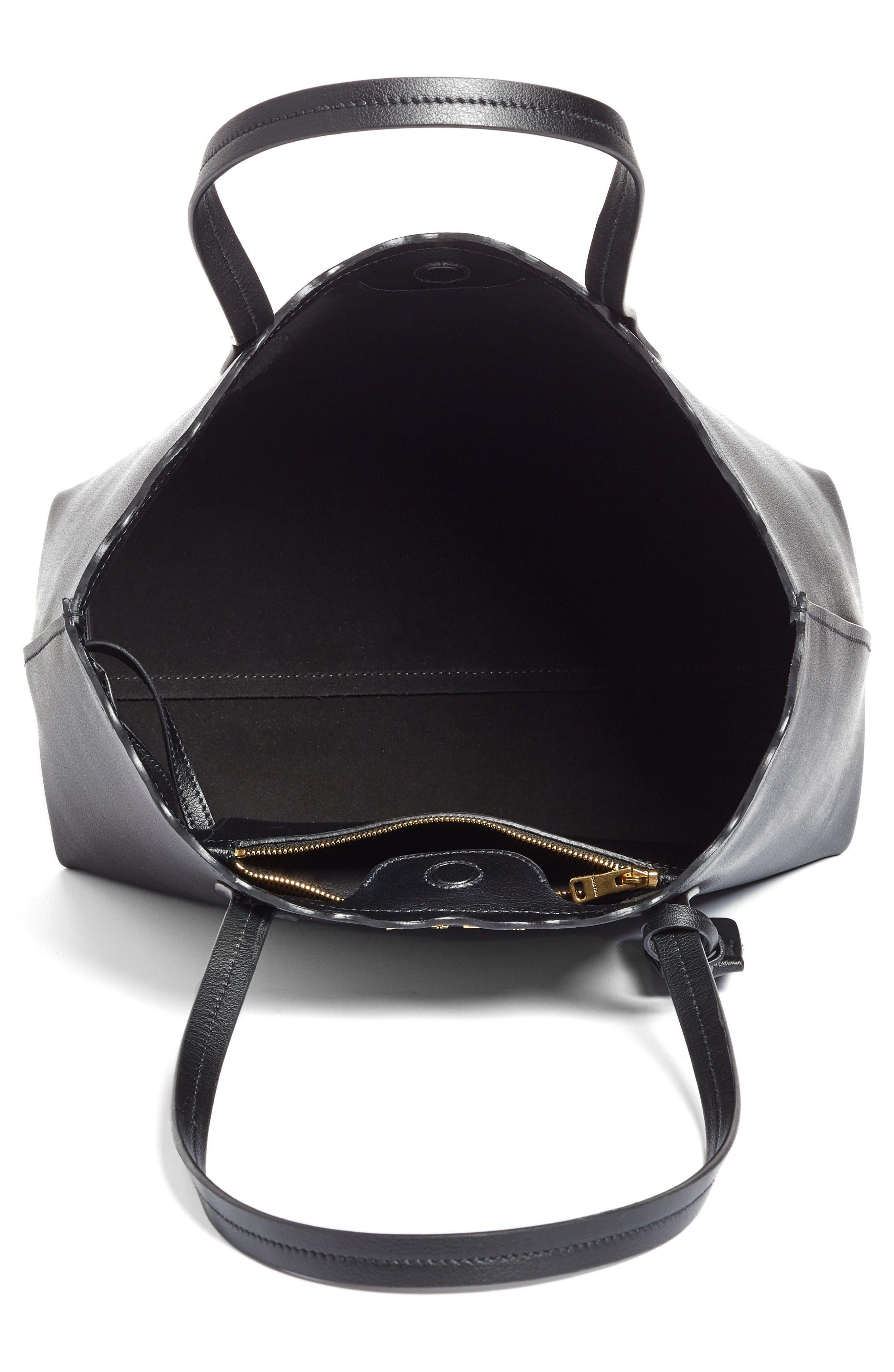 Alternate Image 4  - Miu Miu Small Wave Calfskin Leather Shopper
