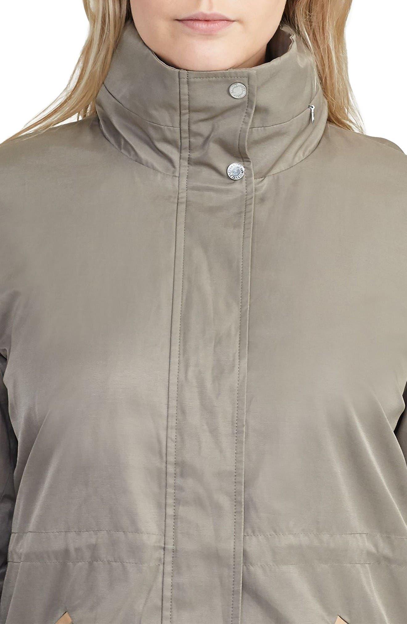 Alternate Image 4  - Lauren Ralph Lauren Hooded Anorak (Plus Size)