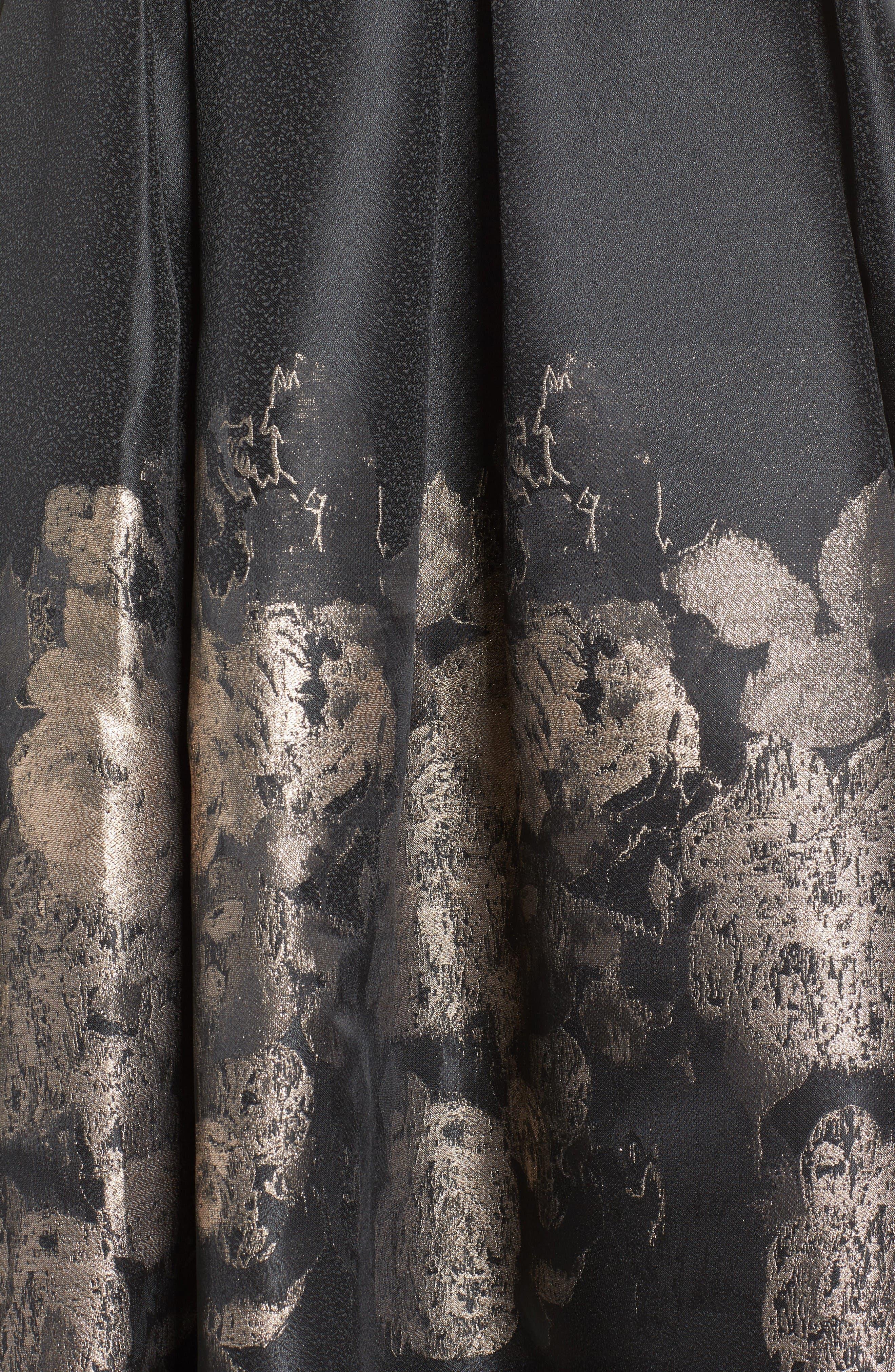 Alternate Image 6  - Eliza J Pleated Mikado Midi Skirt