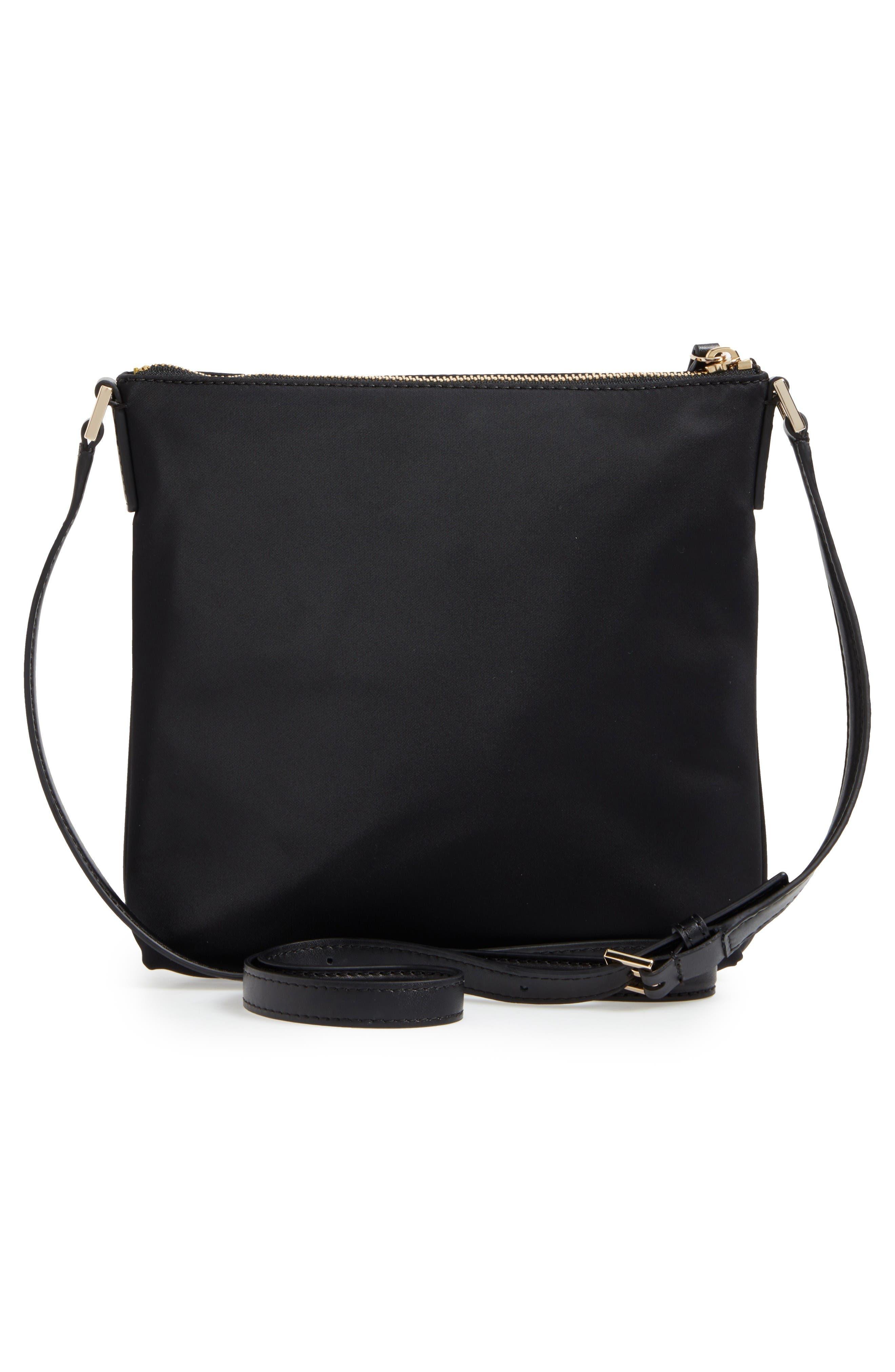 watson lane - hester crossbody bag,                             Alternate thumbnail 3, color,                             Black