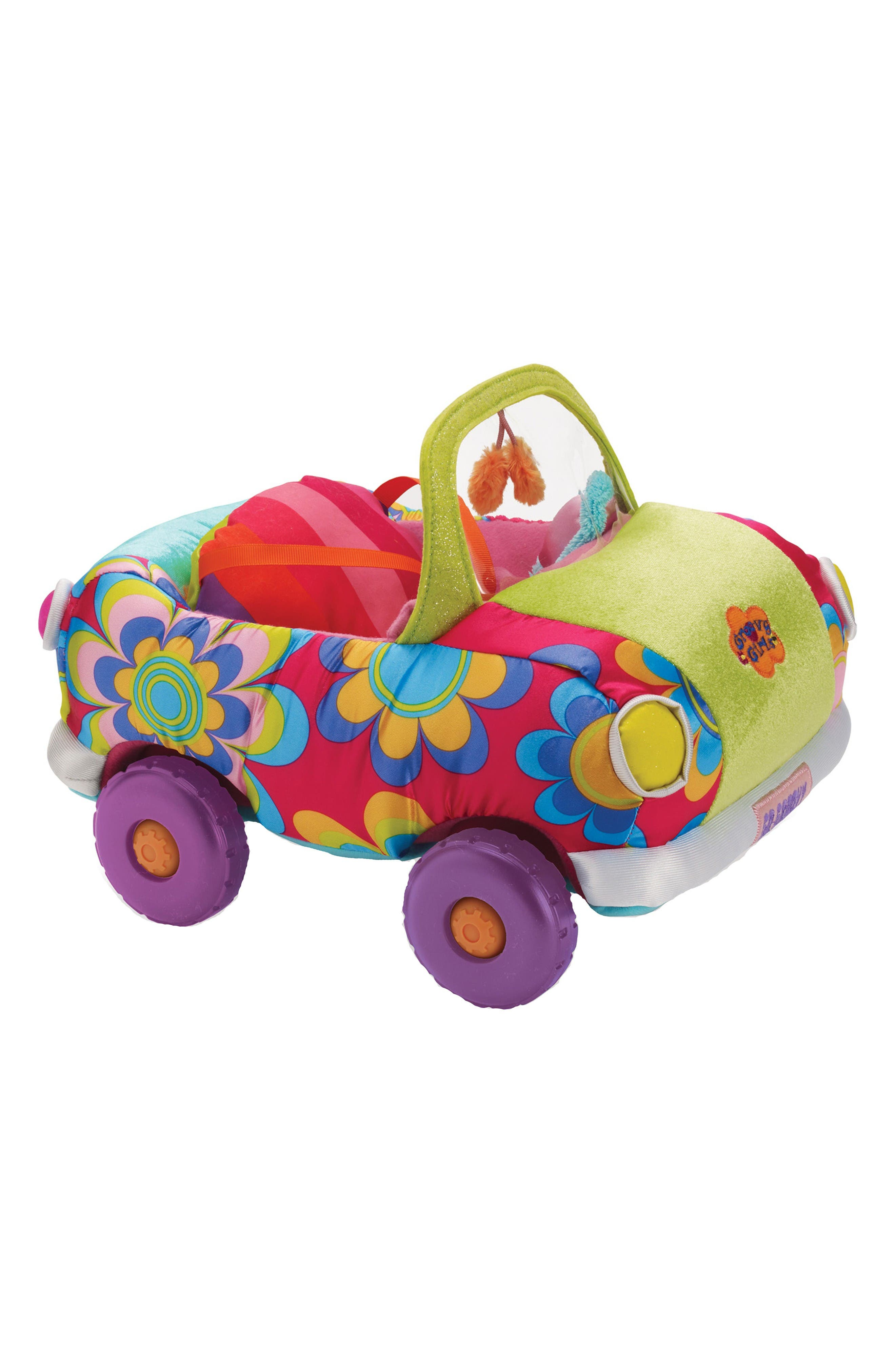 Groovy Girls - Wheelin' in Style Doll Mini Coupe,                         Main,                         color, Green